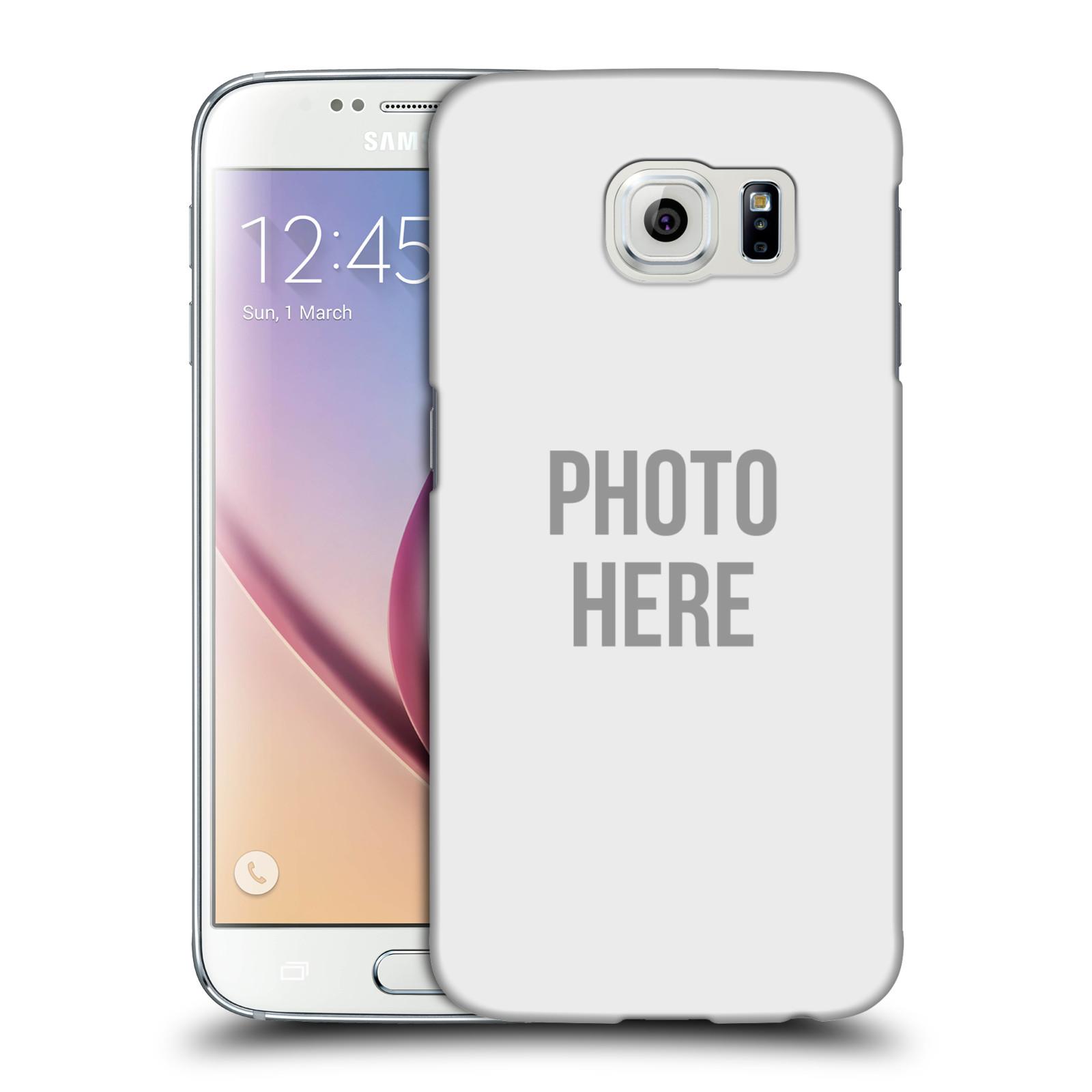 Plastové pouzdro na mobil Samsung Galaxy S6 HEAD CASE s vlastním motivem