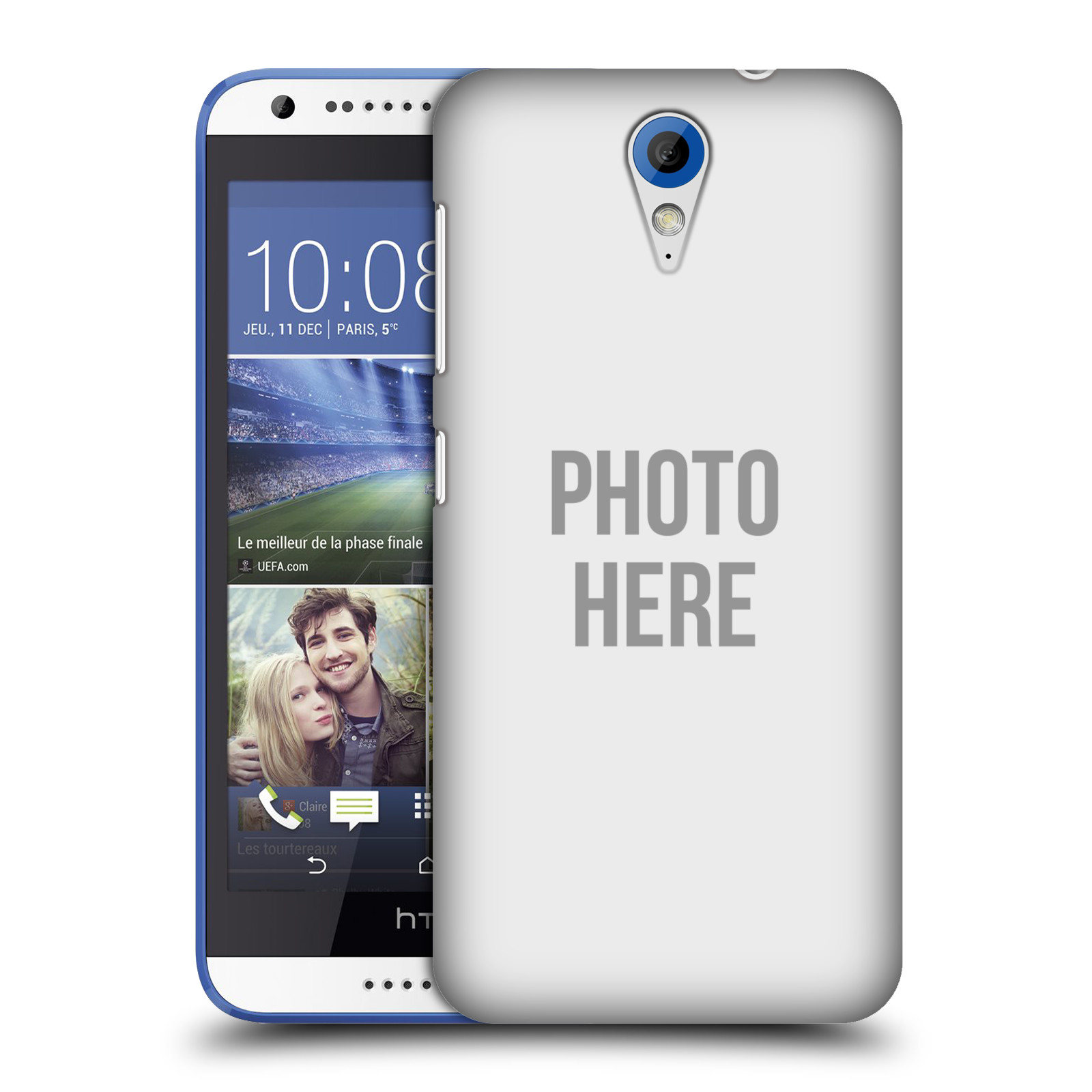 Plastové pouzdro na mobil HTC Desire 620 HEAD CASE s vlastním motivem (Kryt či obal s vlastní fotografií na mobilní telefon HTC Desire 620)