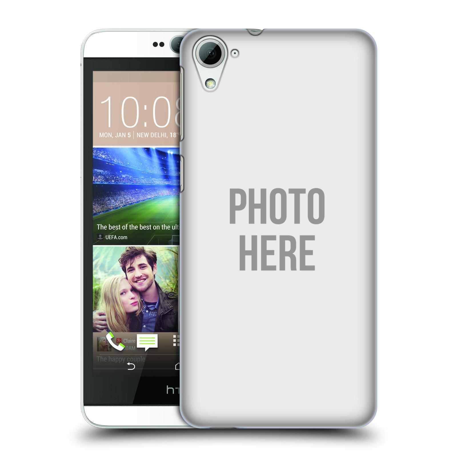 Plastové pouzdro na mobil HTC Desire 826 HEAD CASE s vlastním motivem (Kryt či obal s vlastní fotografií na mobilní telefon HTC Desire 826 Dual SIM)