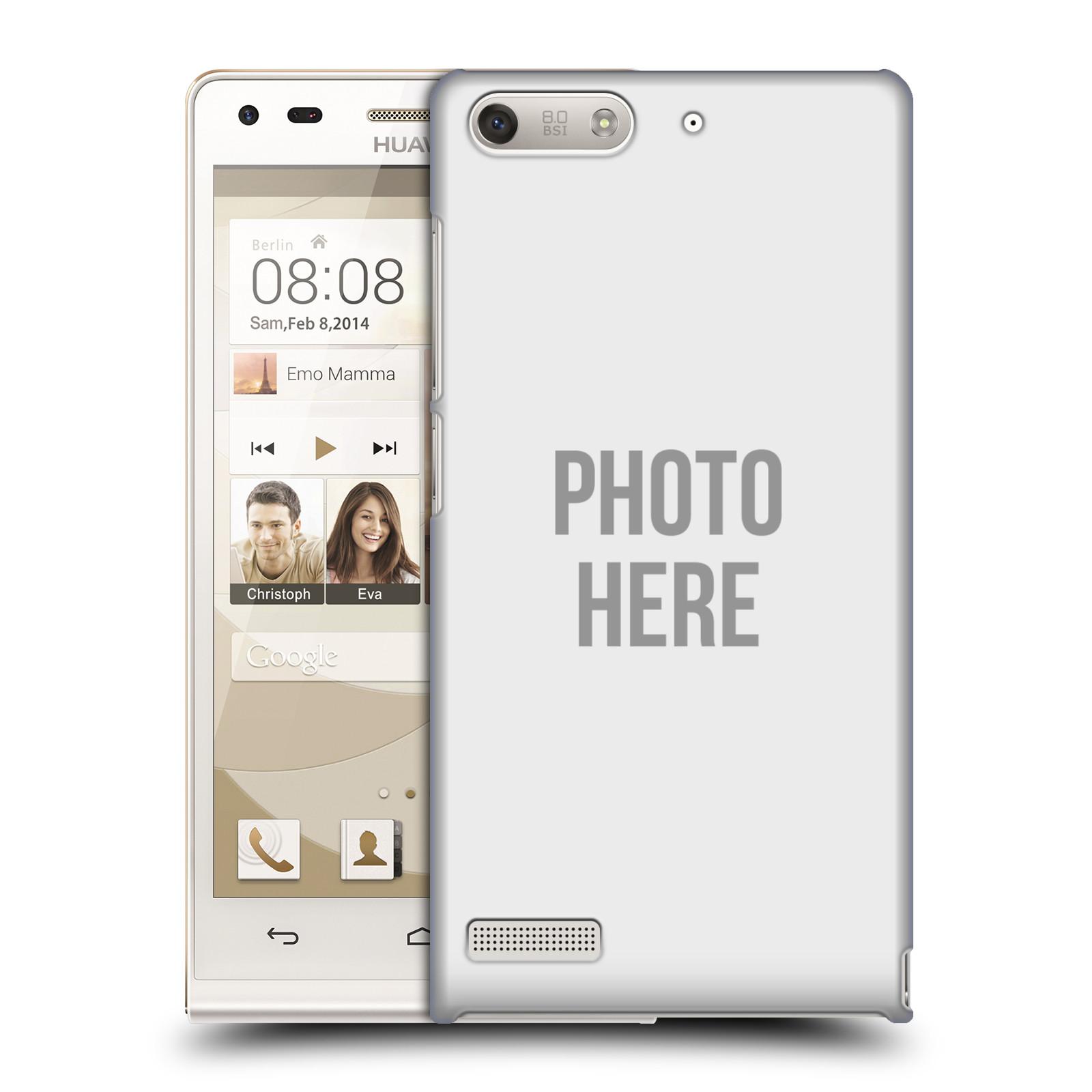 Plastové pouzdro na mobil Huawei Ascend G6 HEAD CASE s vlastním motivem (Kryt či obal s vlastní fotografií na mobilní telefon Huawei Ascend G6 bez LTE)