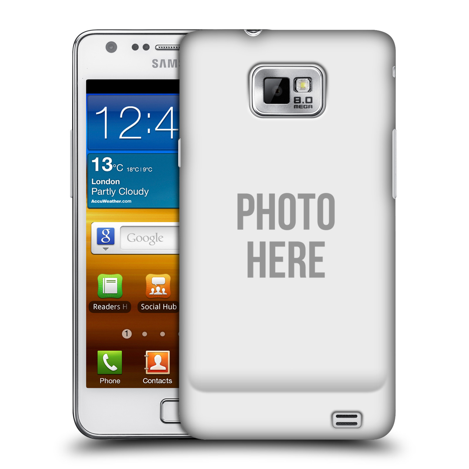 Plastové pouzdro na mobil Samsung Galaxy S II HEAD CASE s vlastním motivem (Kryt či obal s vlastní fotografií na mobilní telefon Samsung Galaxy S II GT-i9100)