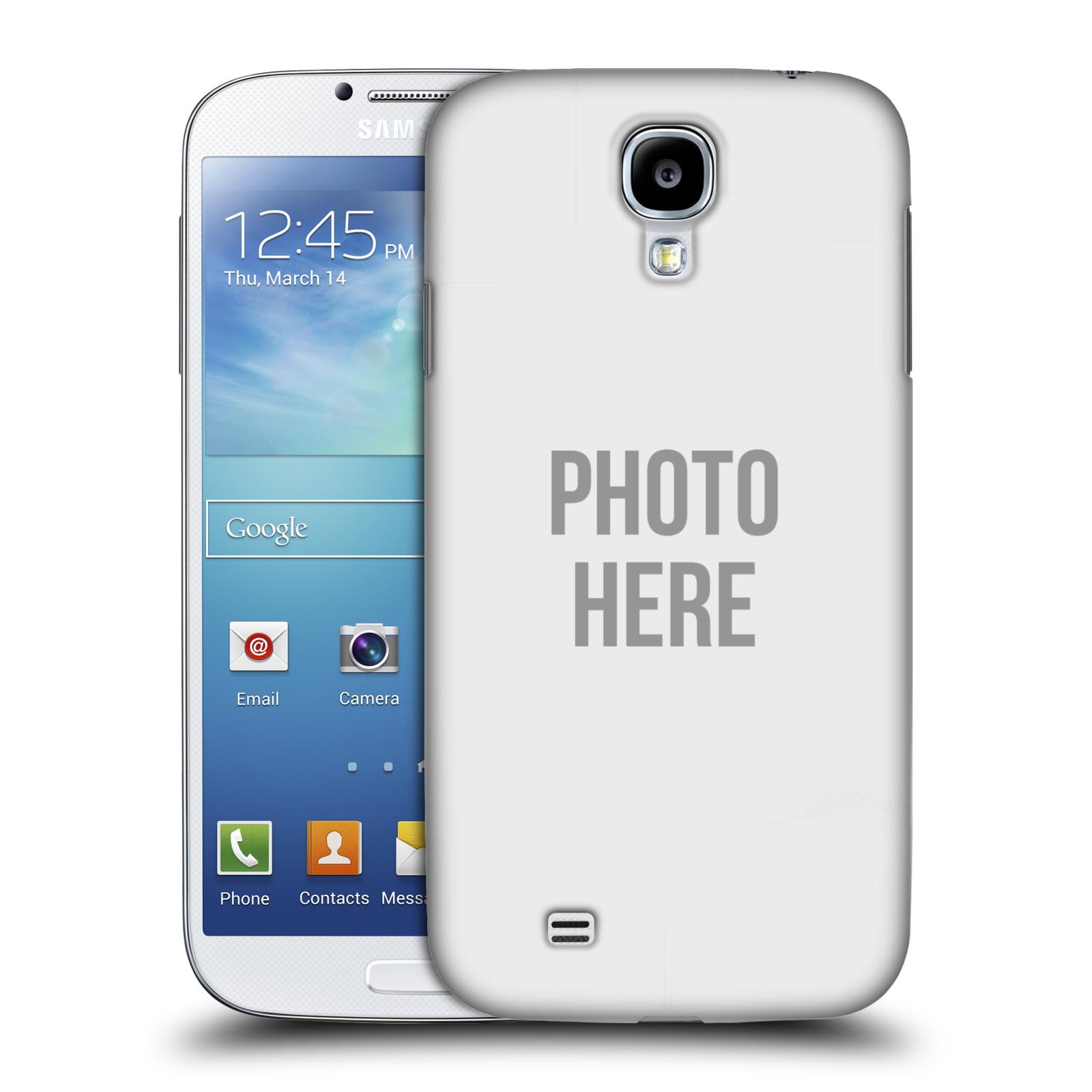 Plastové pouzdro na mobil Samsung Galaxy S4 HEAD CASE s vlastním motivem (Kryt či obal s vlastní fotografií na mobilní telefon Samsung Galaxy S4 GT-i9505 / i9500)
