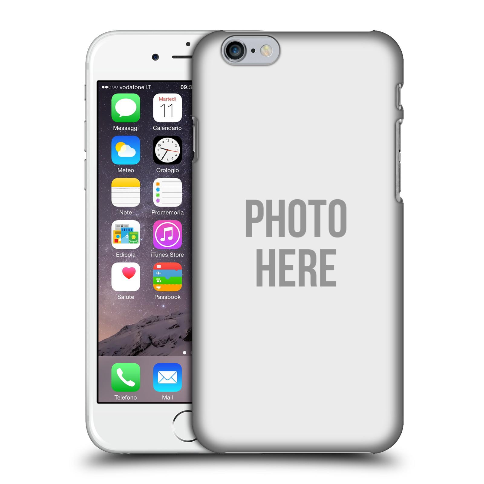 Plastové pouzdro na mobil Apple iPhone 6 HEAD CASE s vlastním motivem (Kryt či obal s vlastní fotografií na mobilní telefon Apple iPhone 6)