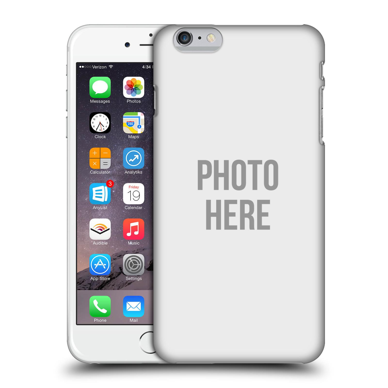 Plastové pouzdro na mobil Apple iPhone 6 Plus HEAD CASE s vlastním motivem