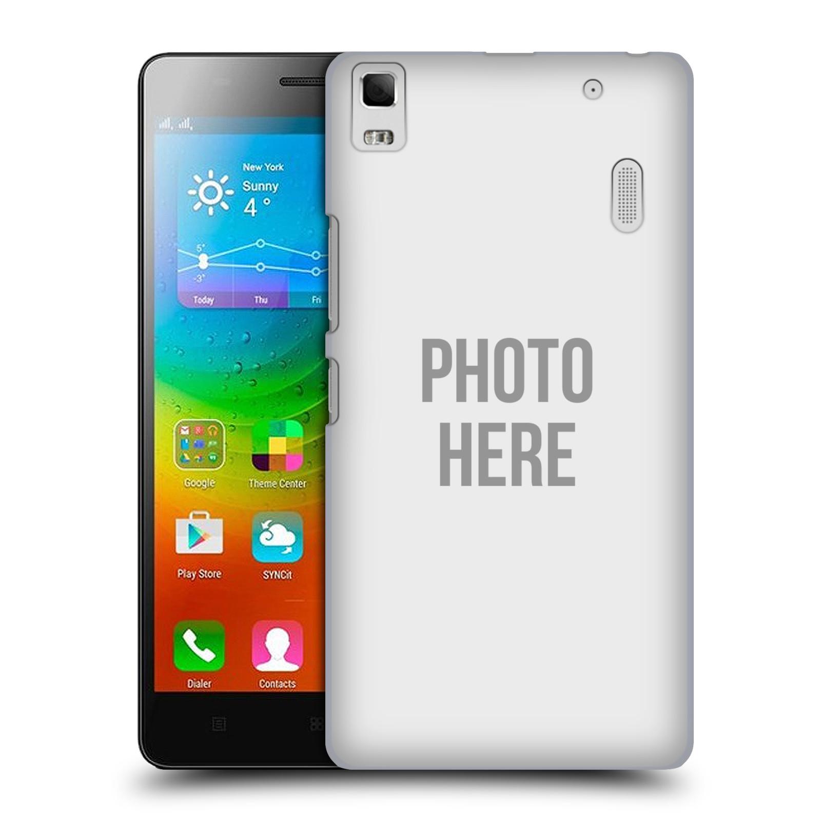 Plastové pouzdro na mobil Lenovo A7000 HEAD CASE s vlastním motivem