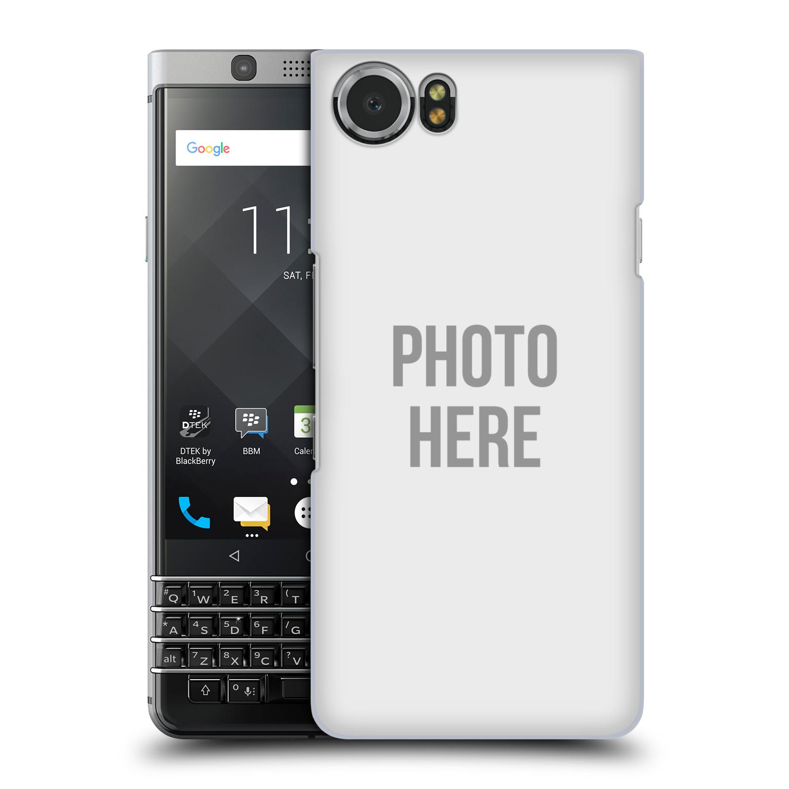Plastové pouzdro na mobil BlackBerry KEYone - Head Case - s vlastním motivem