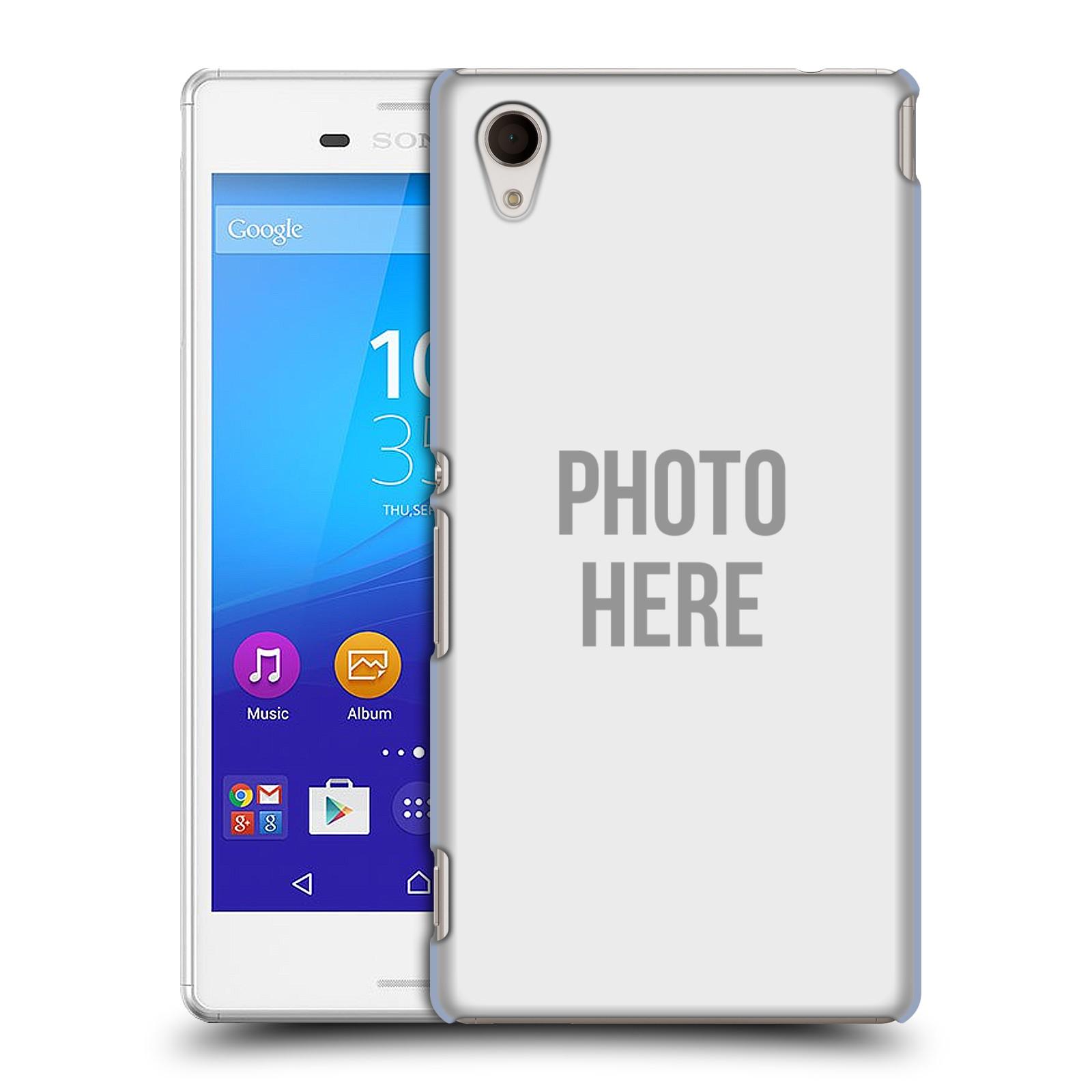 Plastové pouzdro na mobil Sony Xperia M4 Aqua E2303 HEAD CASE s vlastním motivem (Kryt či obal s vlastní fotografií na mobilní telefon Sony Xperia M4 Aqua a M4 Aqua Dual SIM)