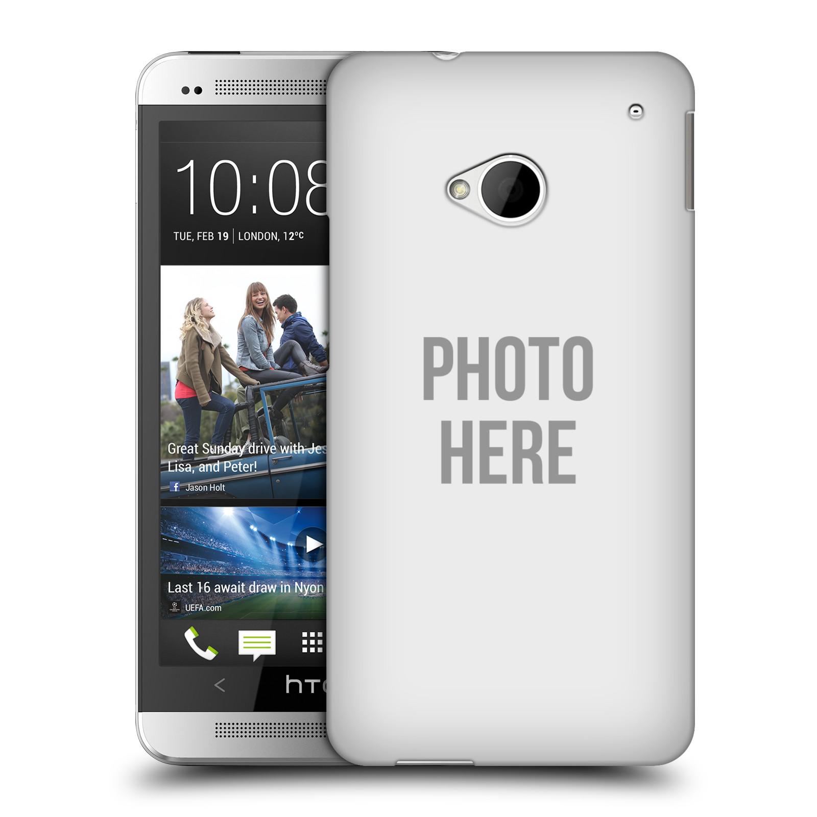 Plastové pouzdro na mobil HTC ONE M7 HEAD CASE s vlastním motivem (Kryt či obal s vlastní fotografií na mobilní telefon HTC ONE M7)
