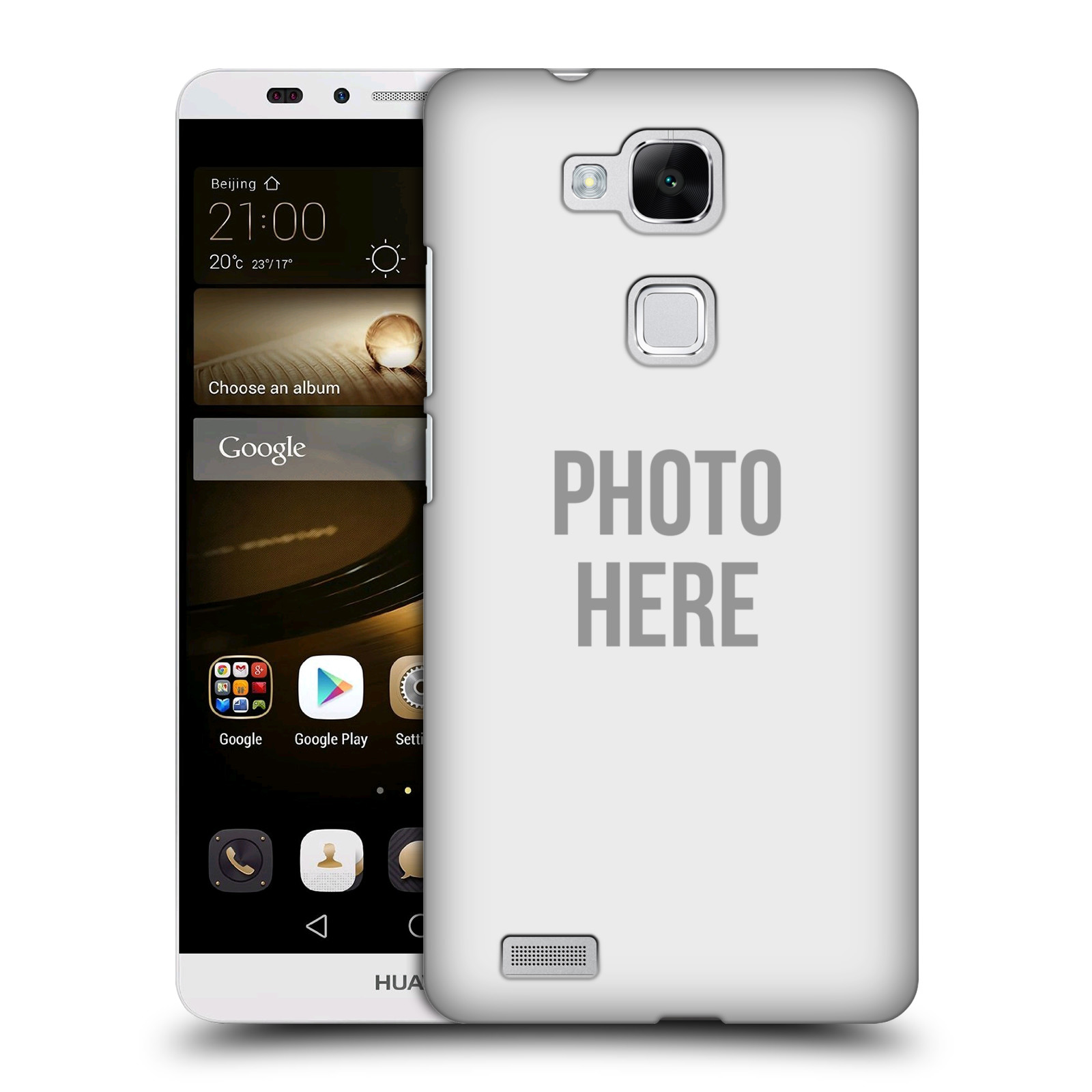Plastové pouzdro na mobil Huawei Ascend Mate 7 HEAD CASE s vlastním motivem
