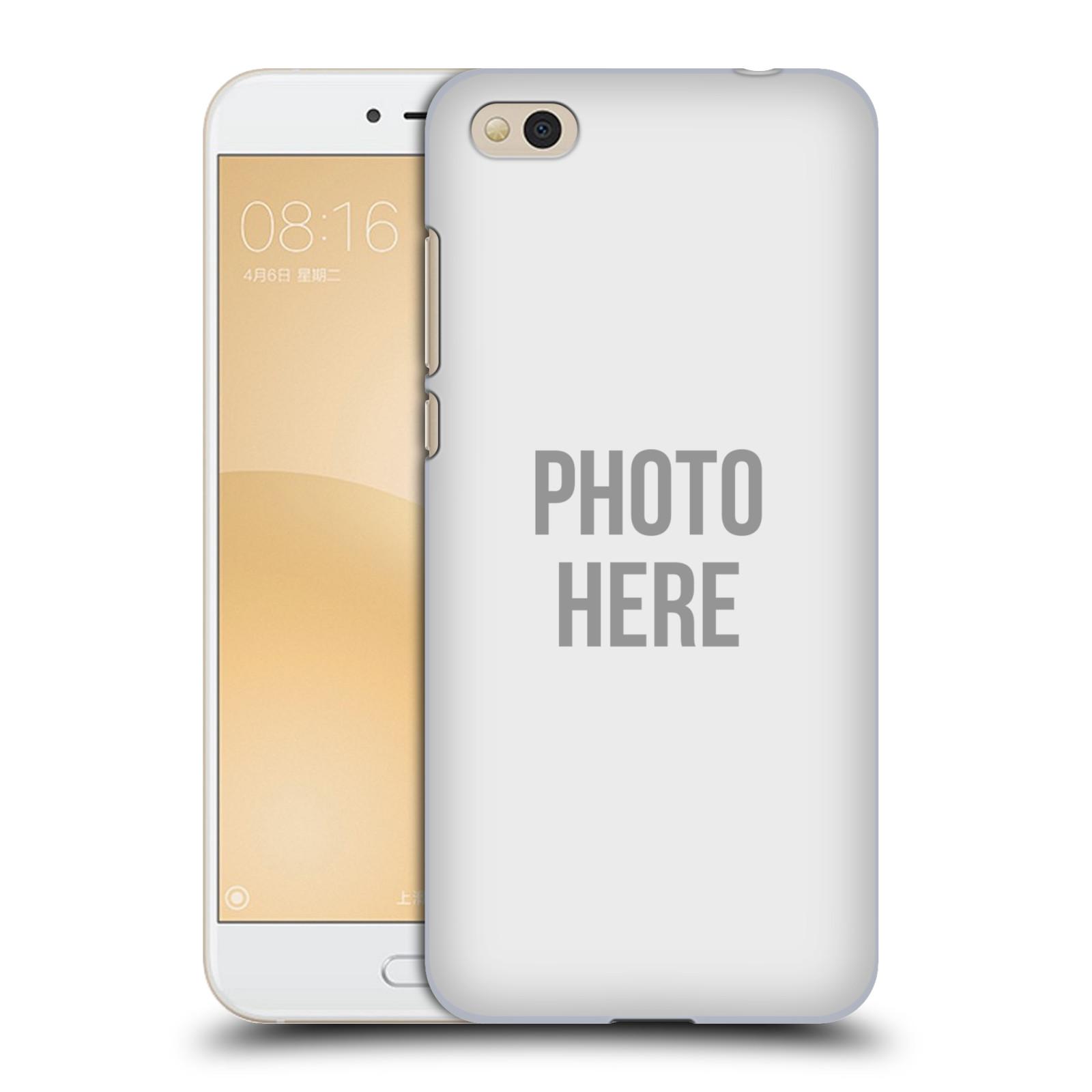 Plastové pouzdro na mobil Xiaomi Mi5c - Head Case - s vlastním motivem