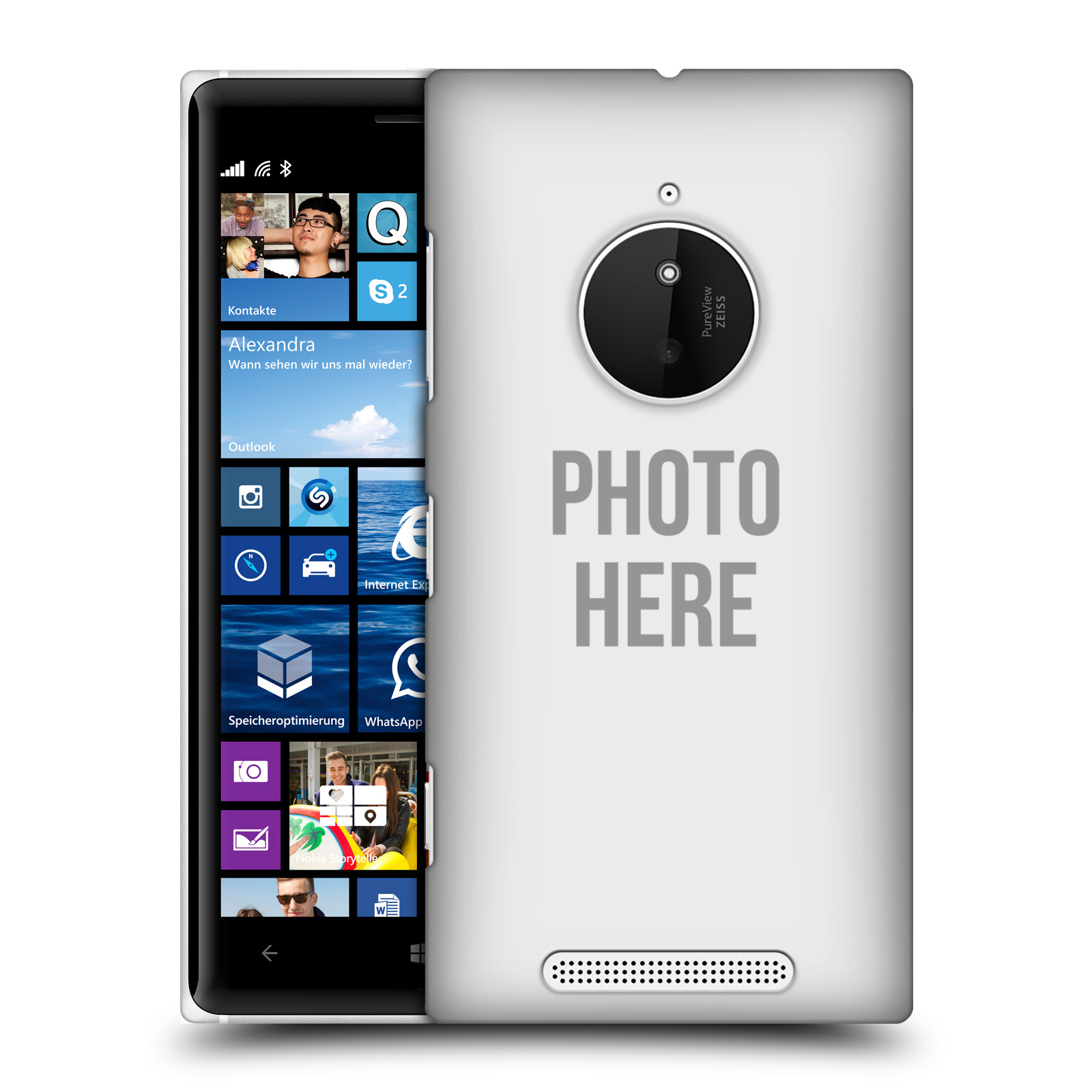 Plastové pouzdro na mobil Nokia Lumia 830 HEAD CASE s vlastním motivem (Kryt či obal s vlastní fotografií na mobilní telefon Nokia Lumia 830)