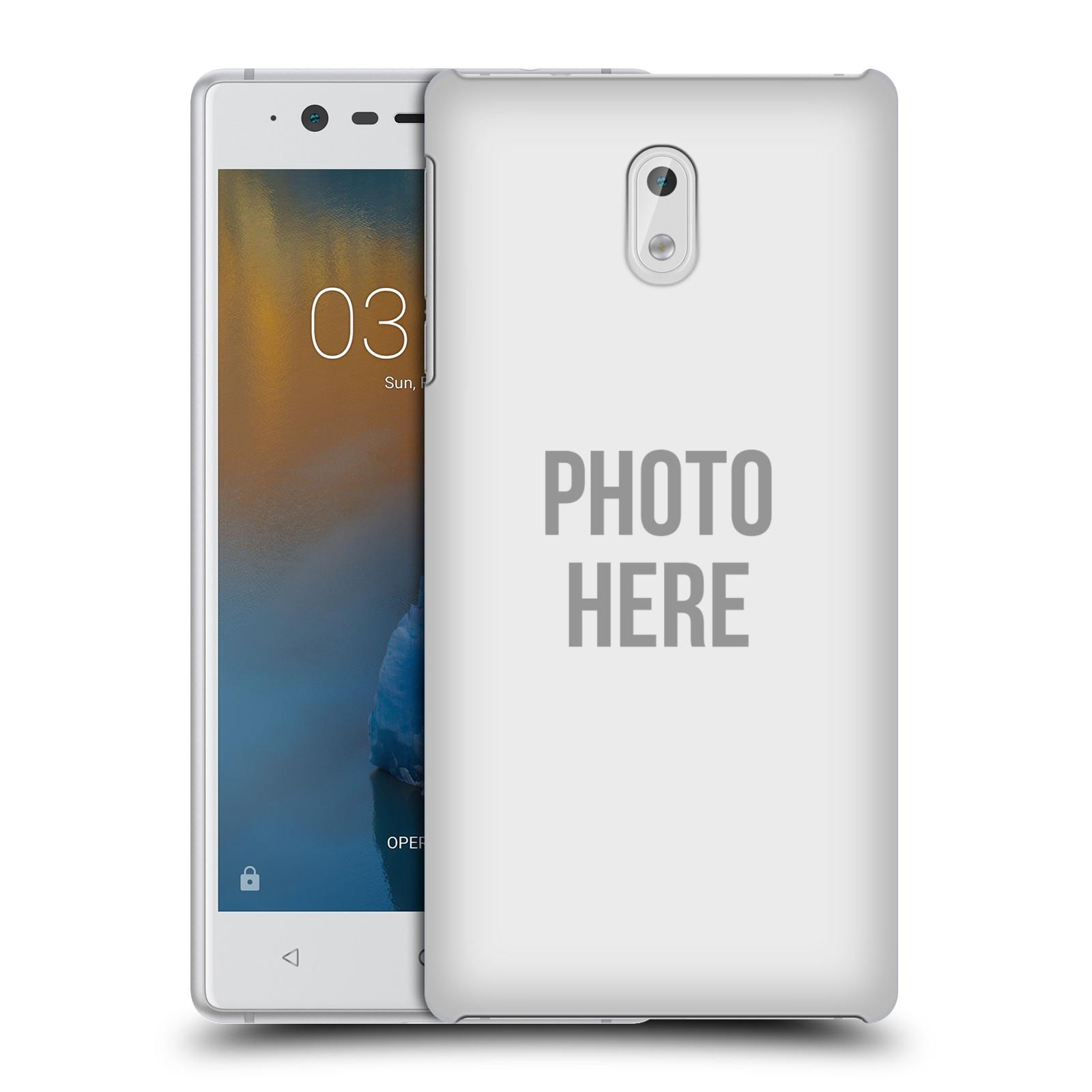 Plastové pouzdro na mobil Nokia 3 Head Case - s vlastním motivem