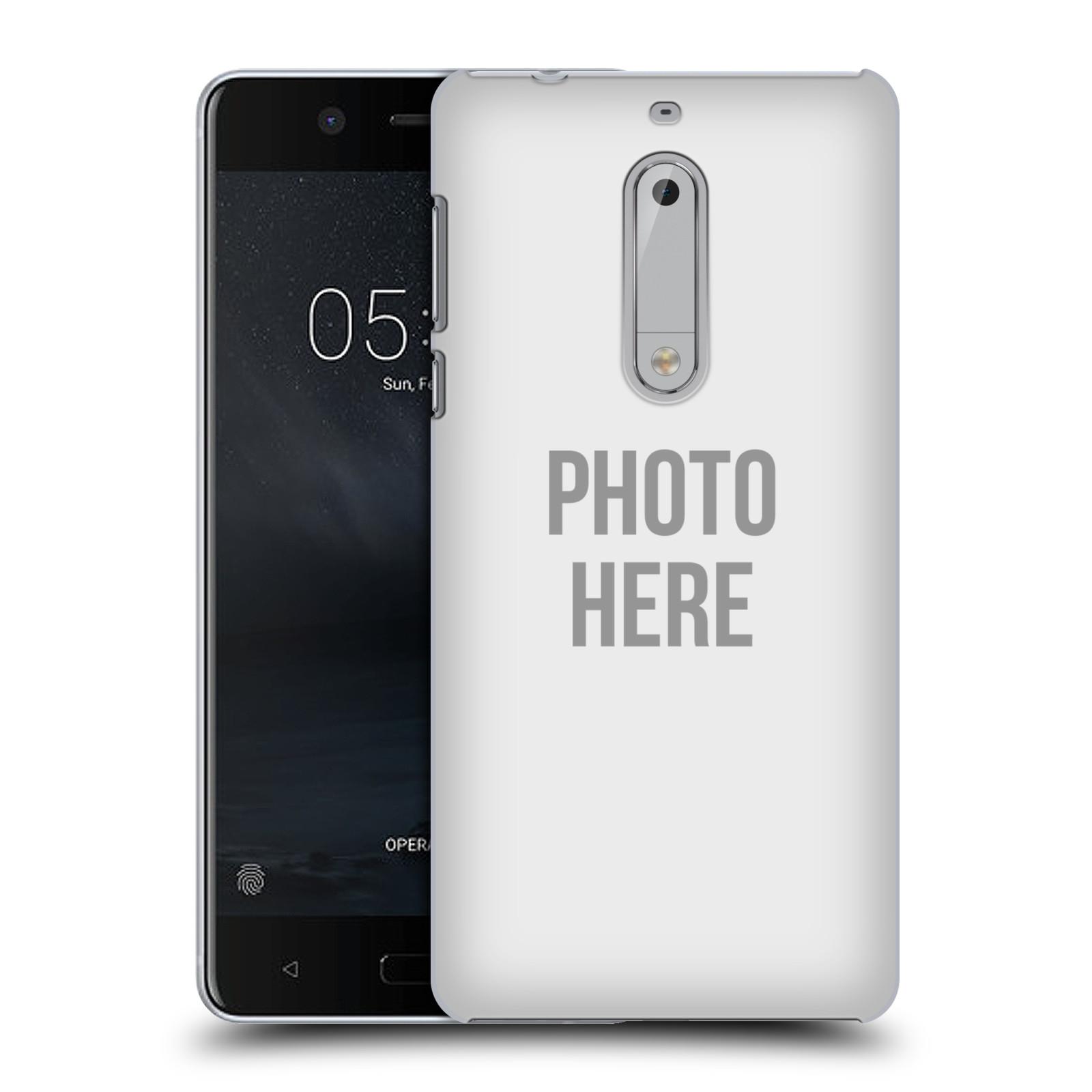 Plastové pouzdro na mobil Nokia 5 Head Case - s vlastním motivem
