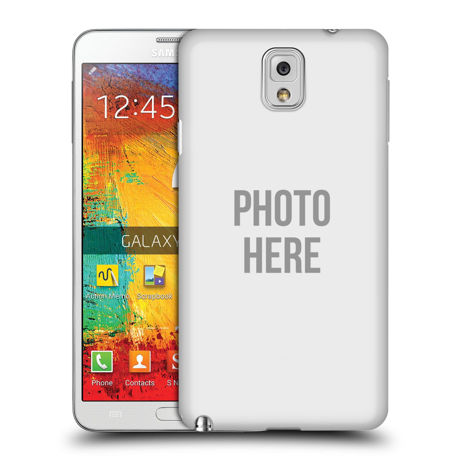 Plastové pouzdro na mobil Samsung Galaxy Note 3 HEAD CASE s vlastním motivem