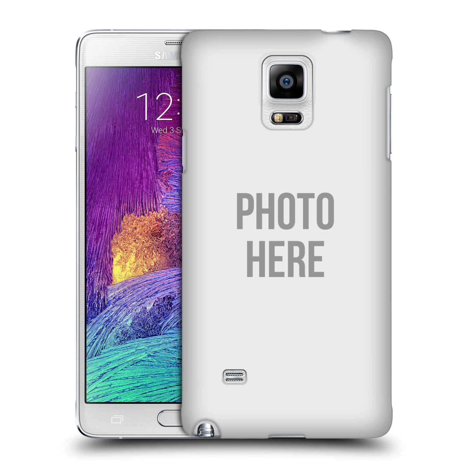 Plastové pouzdro na mobil Samsung Galaxy Note 4 HEAD CASE s vlastním motivem