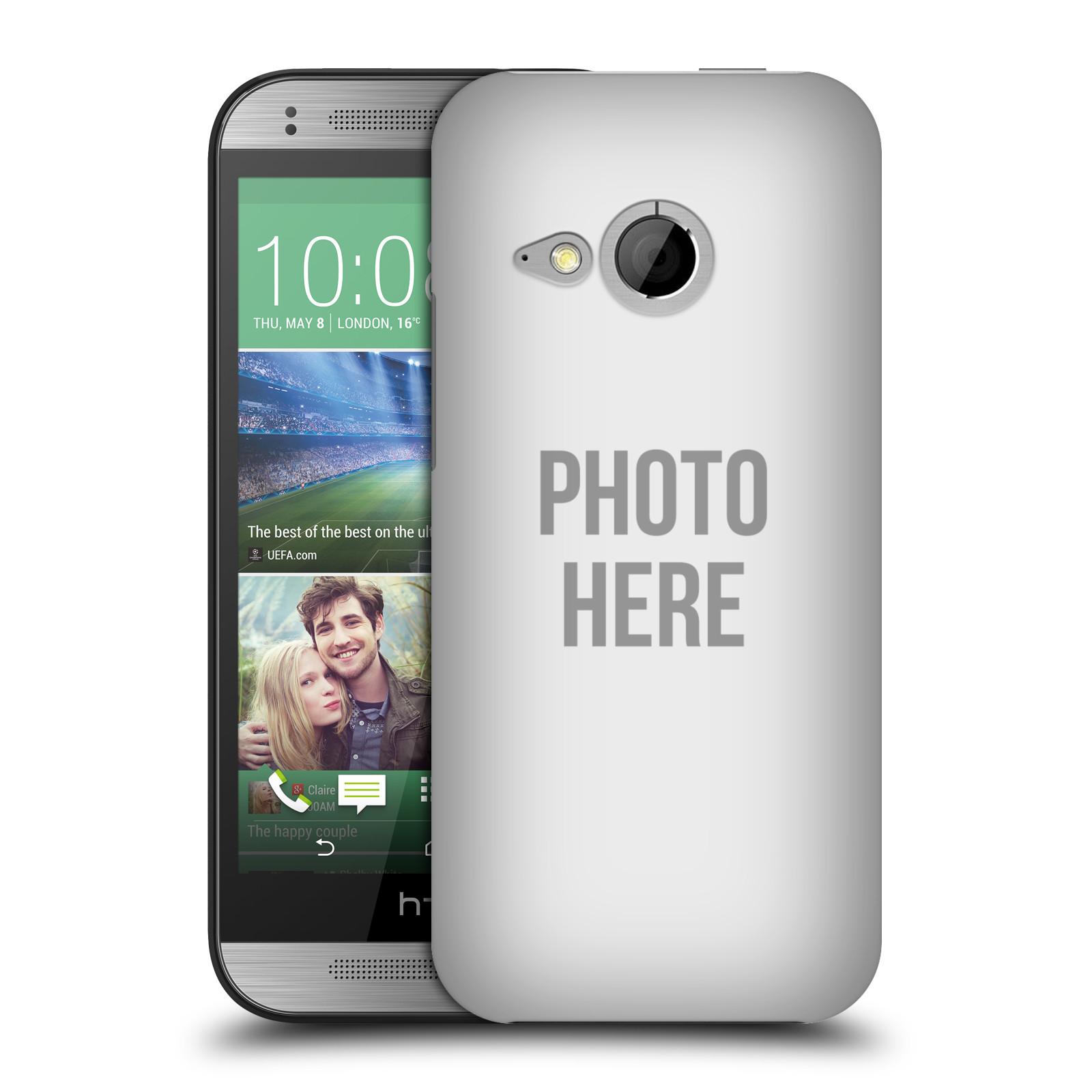 Plastové pouzdro na mobil HTC ONE Mini 2 HEAD CASE s vlastním motivem (Kryt či obal s vlastní fotografií na mobilní telefon HTC ONE Mini 2)