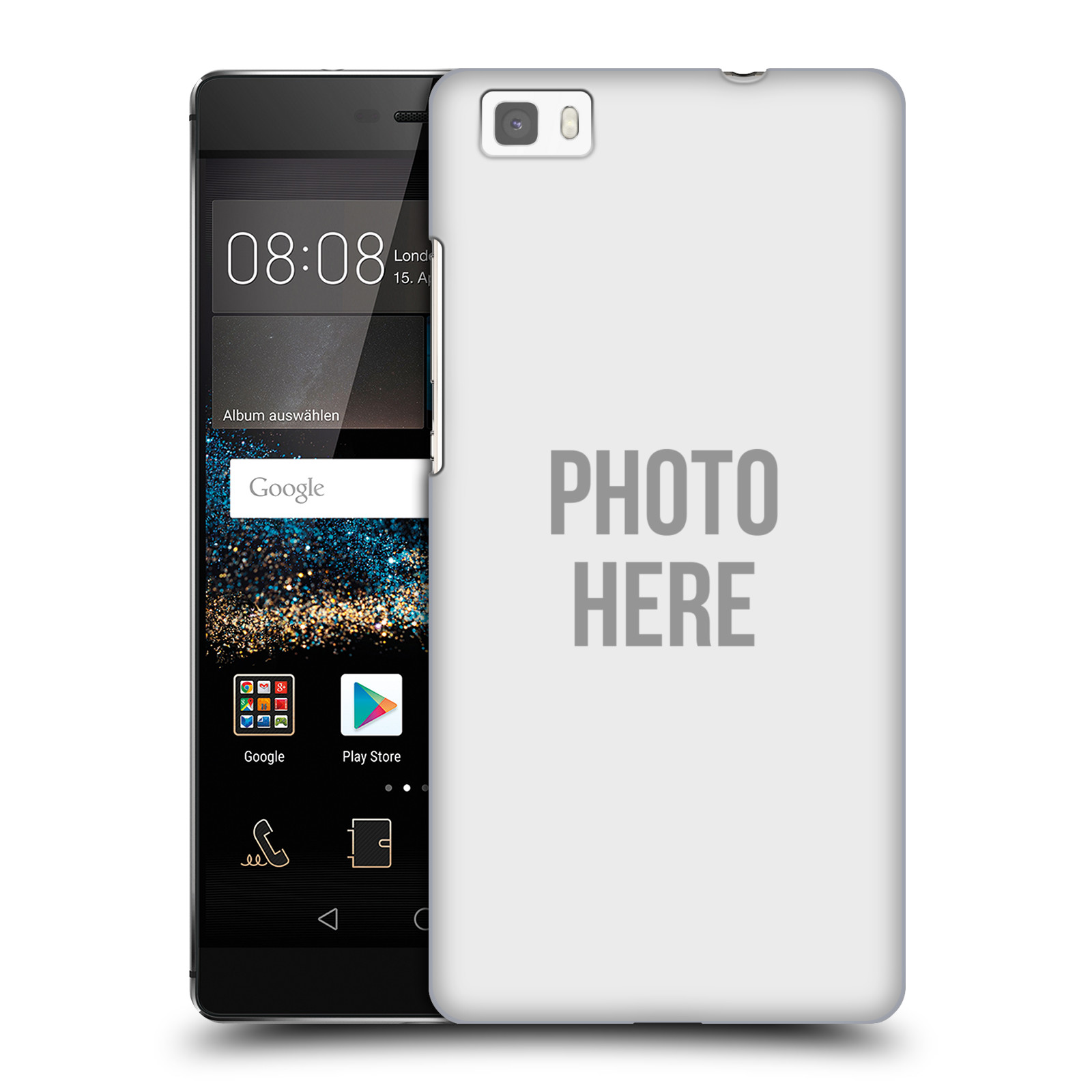 Plastové pouzdro na mobil Huawei P8 Lite HEAD CASE s vlastním motivem 237a251ef85