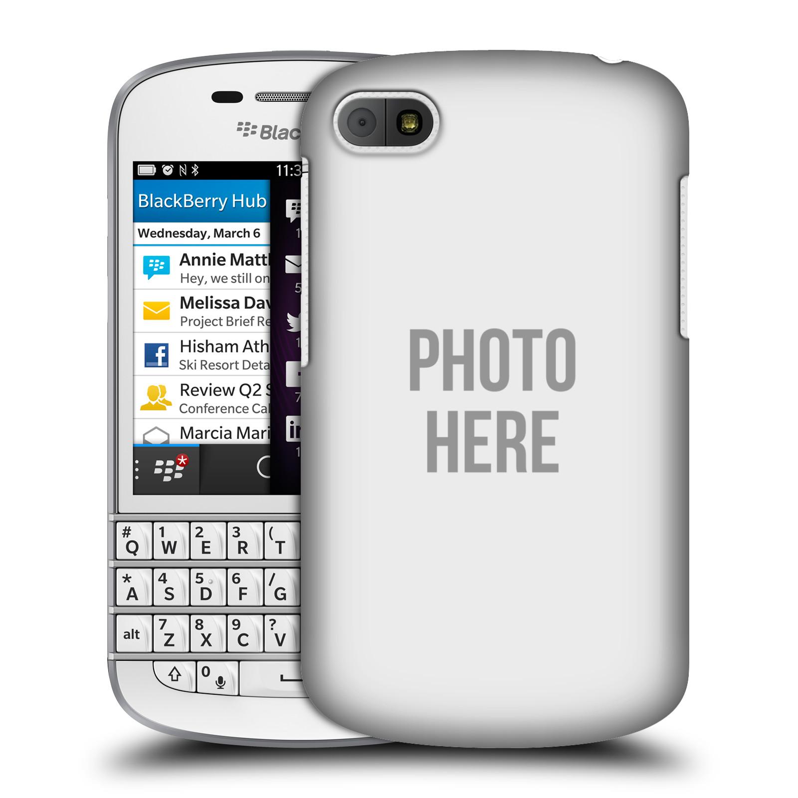 Plastové pouzdro na mobil Blackberry Q10 HEAD CASE s vlastním motivem (Kryt či obal s vlastní fotografií na mobilní telefon Blackberry Q10)
