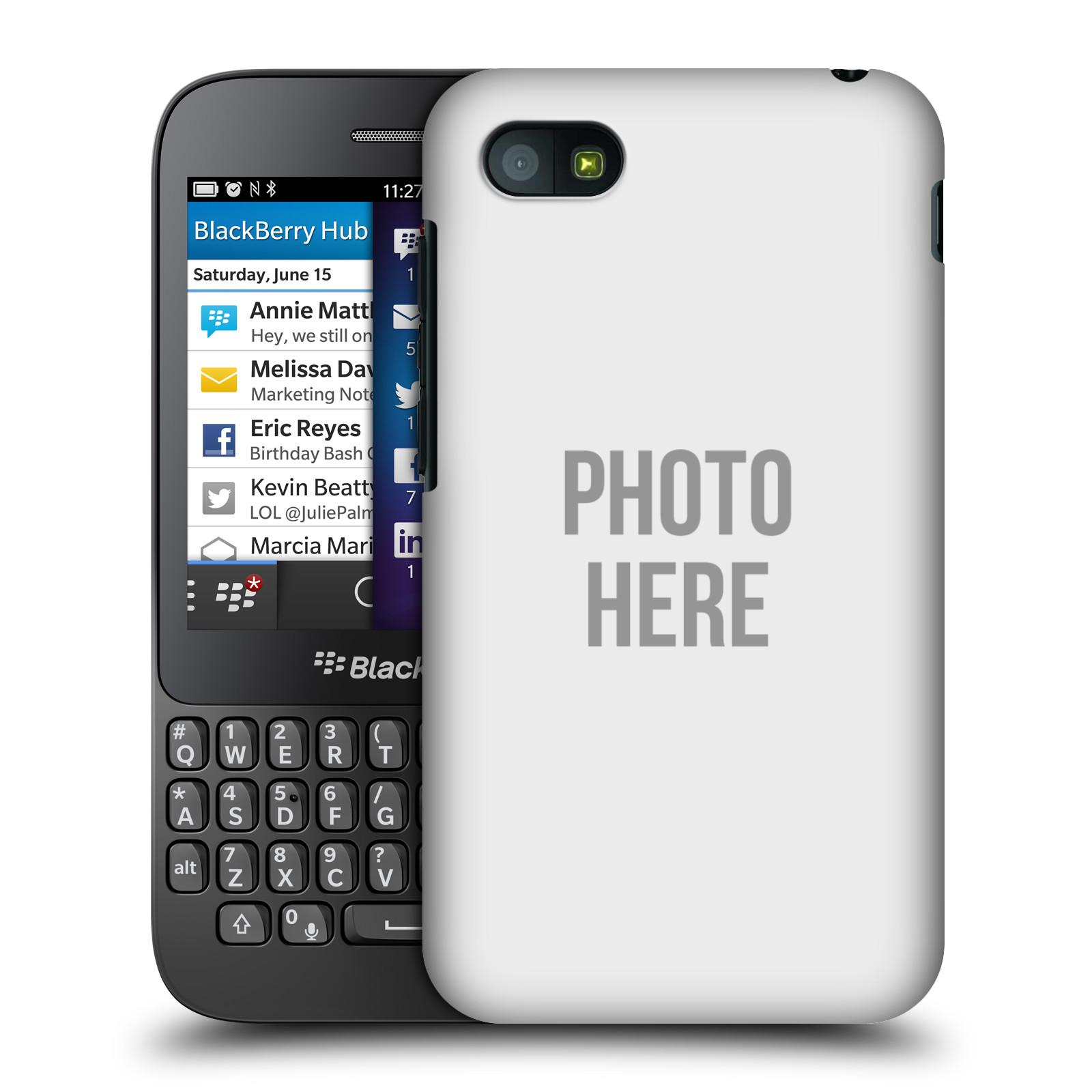 Plastové pouzdro na mobil Blackberry Q5 HEAD CASE s vlastním motivem (Kryt či obal s vlastní fotografií na mobilní telefon Blackberry Q5)