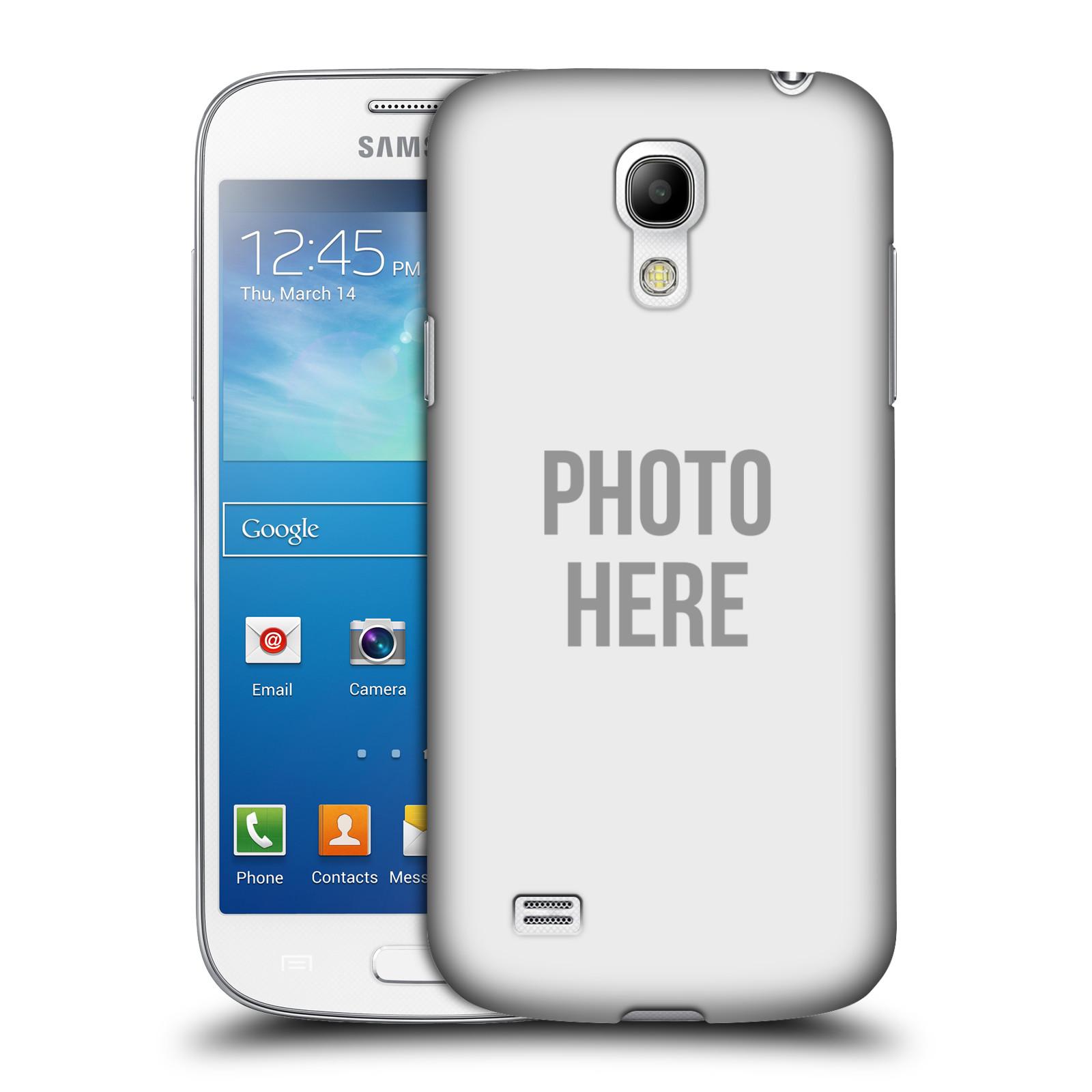 Plastové pouzdro na mobil Samsung Galaxy S4 Mini VE HEAD CASE s vlastním motivem