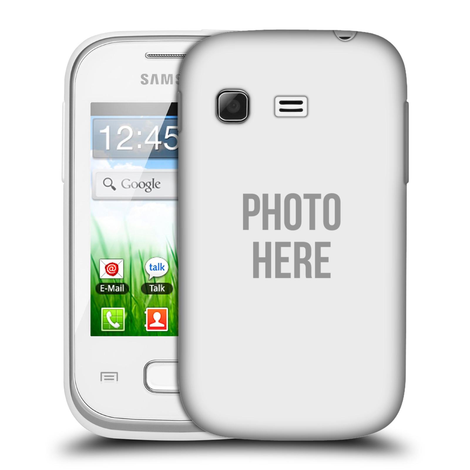 Plastové pouzdro na mobil Samsung Galaxy Pocket HEAD CASE s vlastním motivem (Kryt či obal s vlastní fotografií na mobilní telefon Samsung Galaxy Pocket GT-S5300)