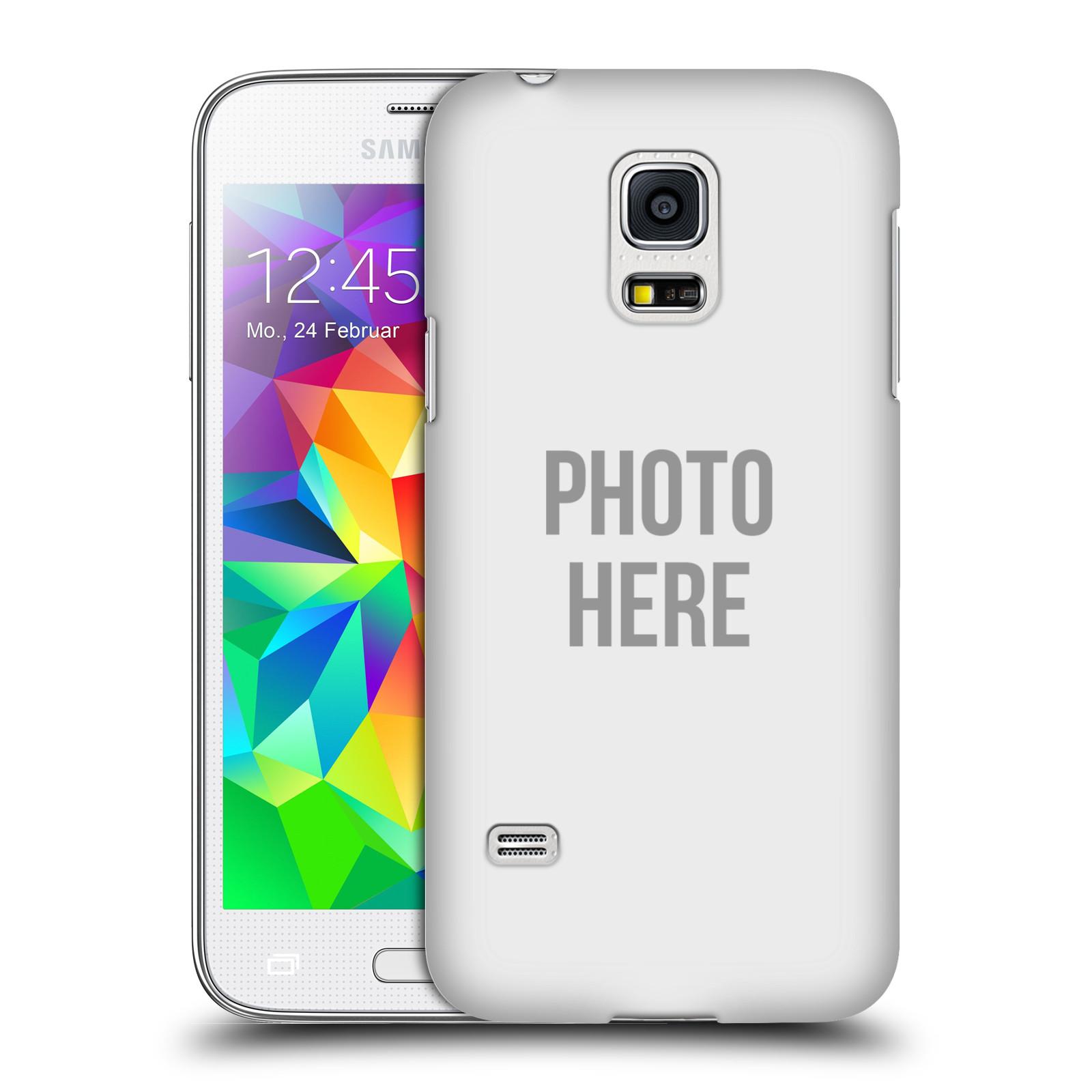 Plastové pouzdro na mobil Samsung Galaxy S5 Mini HEAD CASE s vlastním motivem