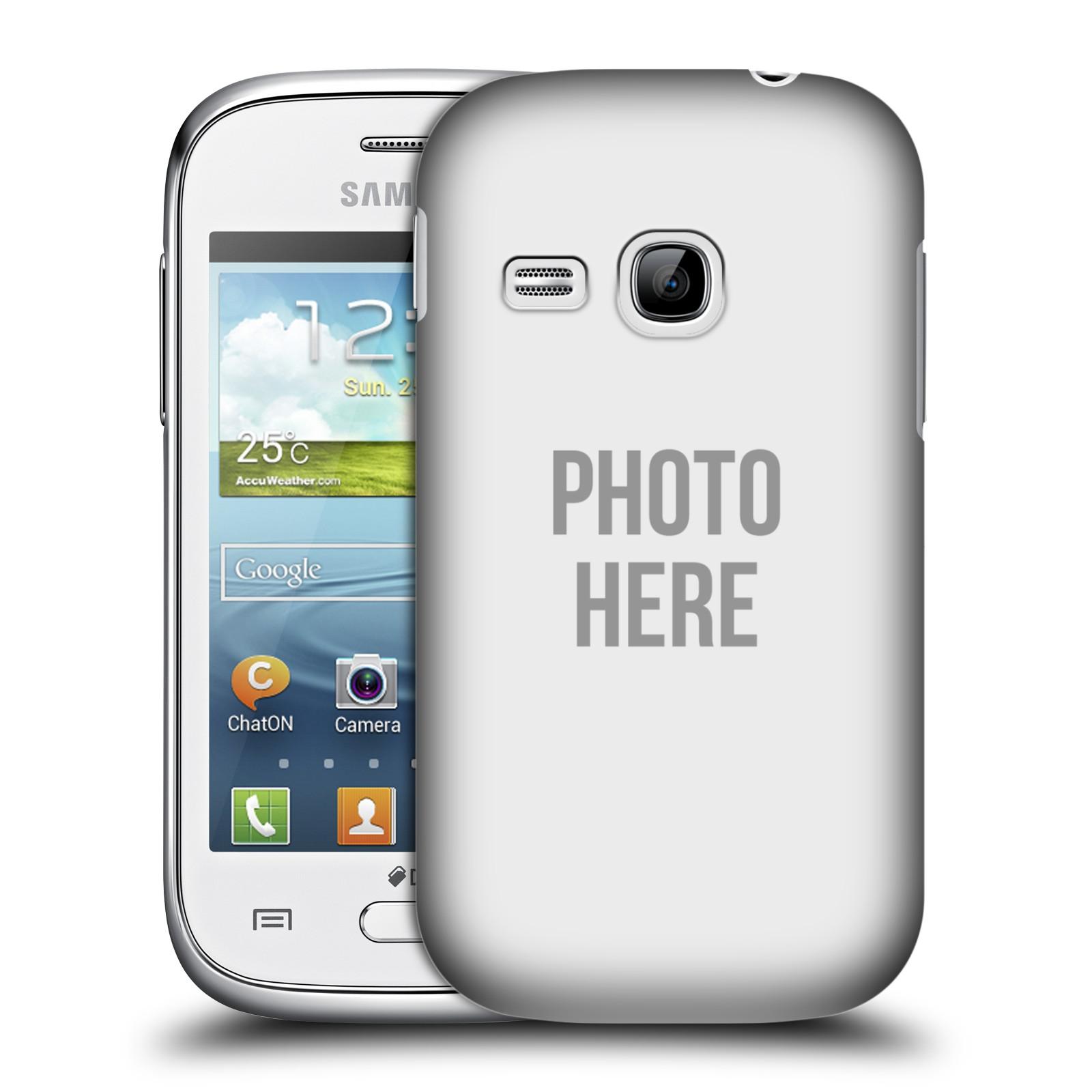 Plastové pouzdro na mobil Samsung Galaxy Young HEAD CASE s vlastním motivem