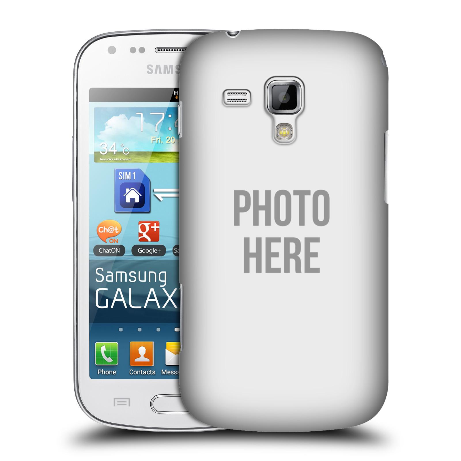 Plastové pouzdro na mobil Samsung Galaxy Trend Plus HEAD CASE s vlastním motivem