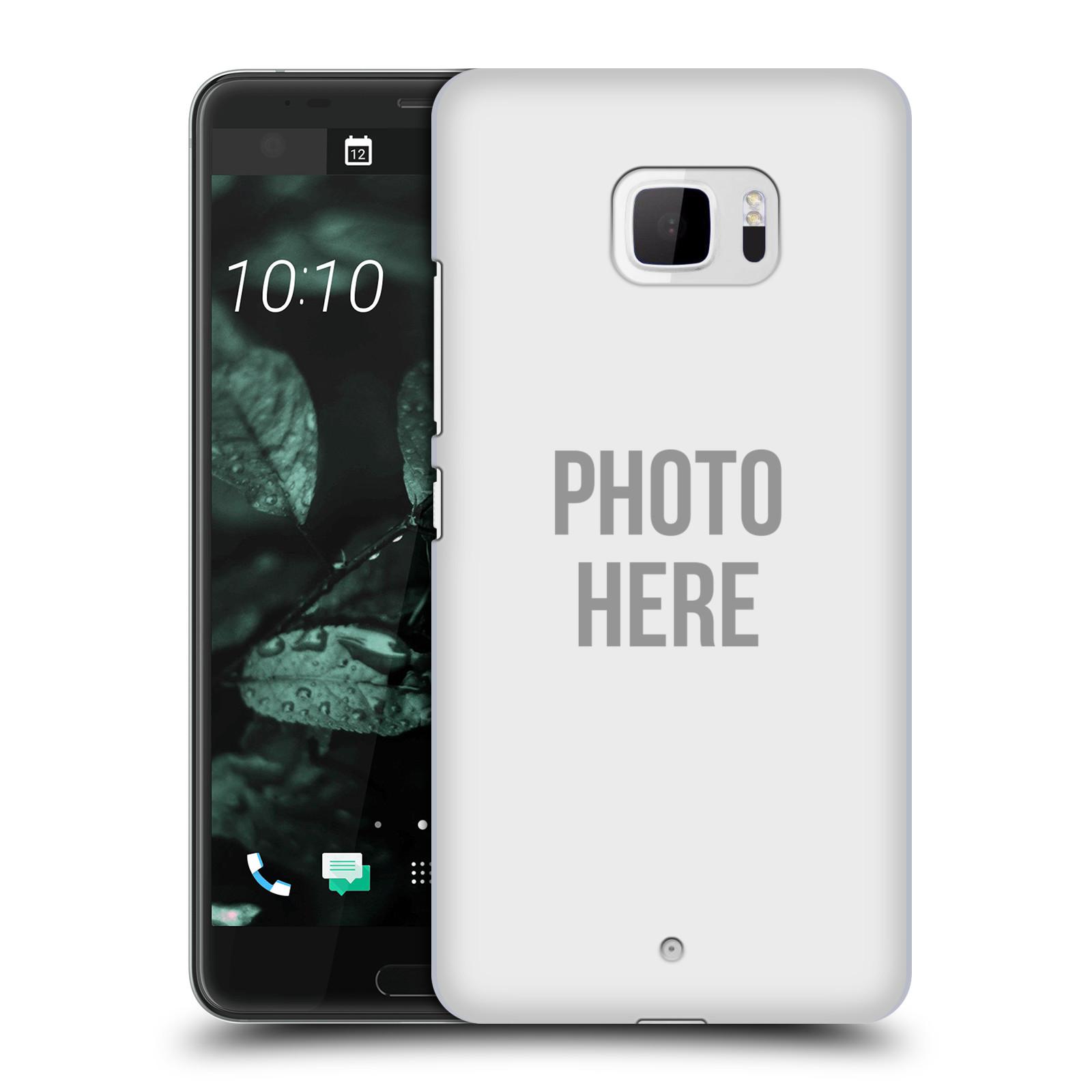 Plastové pouzdro na mobil HTC U Ultra Head Case - s vlastním motivem