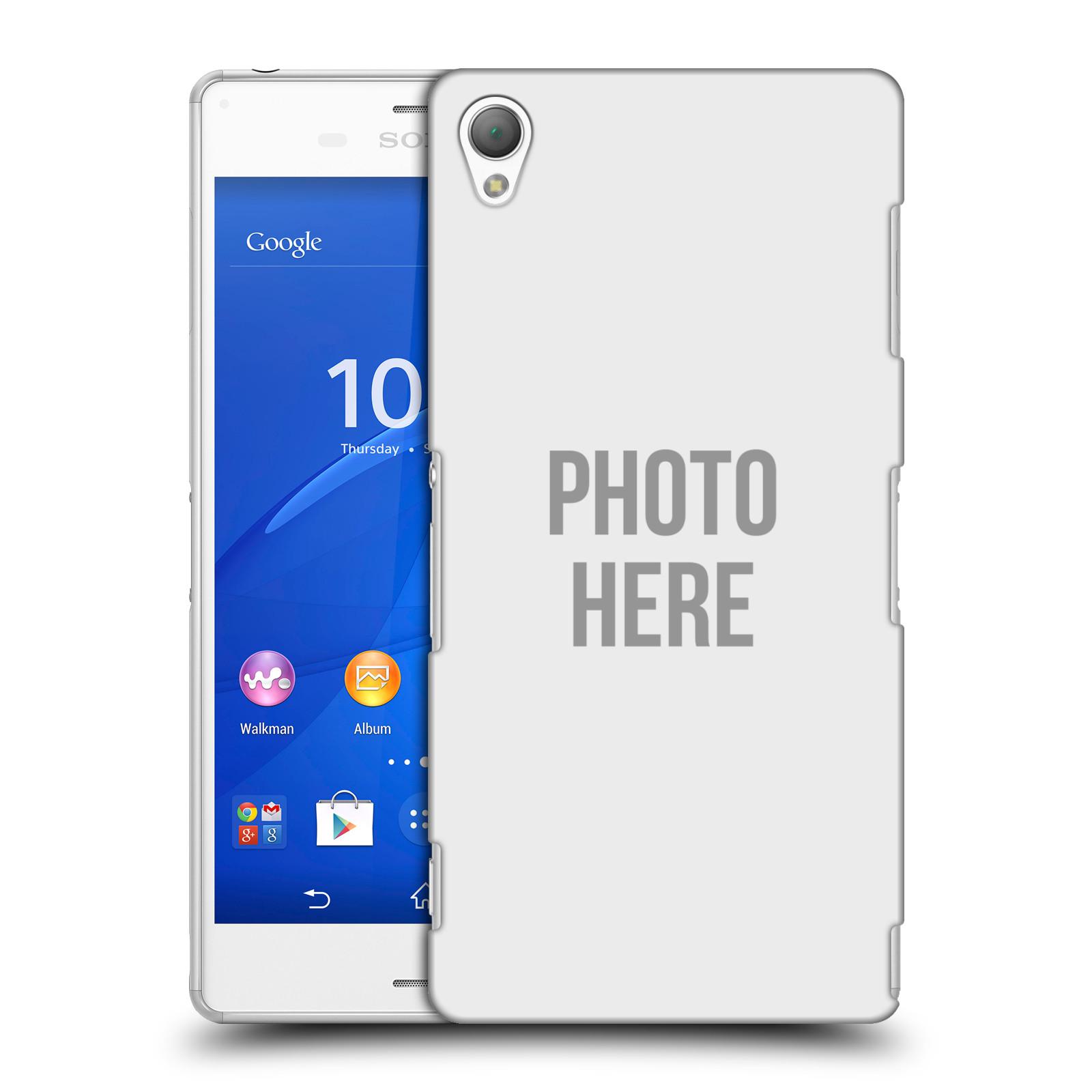 Plastové pouzdro na mobil Sony Xperia Z3 D6603 HEAD CASE s vlastním motivem (Kryt či obal s vlastní fotografií na mobilní telefon Sony Xperia Z3)