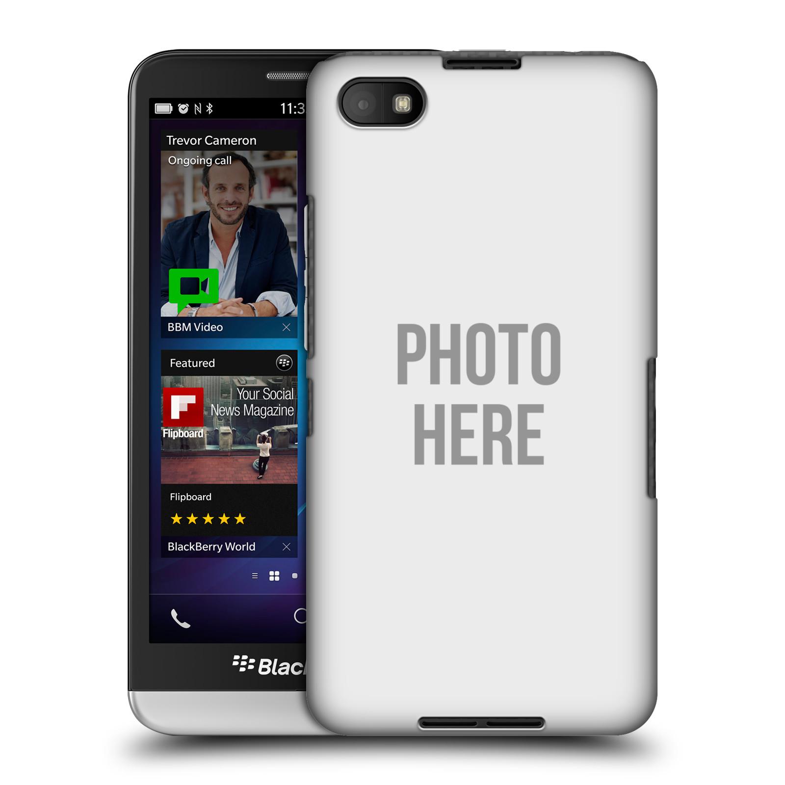 Plastové pouzdro na mobil Blackberry Z30 HEAD CASE s vlastním motivem (Kryt či obal s vlastní fotografií na mobilní telefon Blackberry Z30)