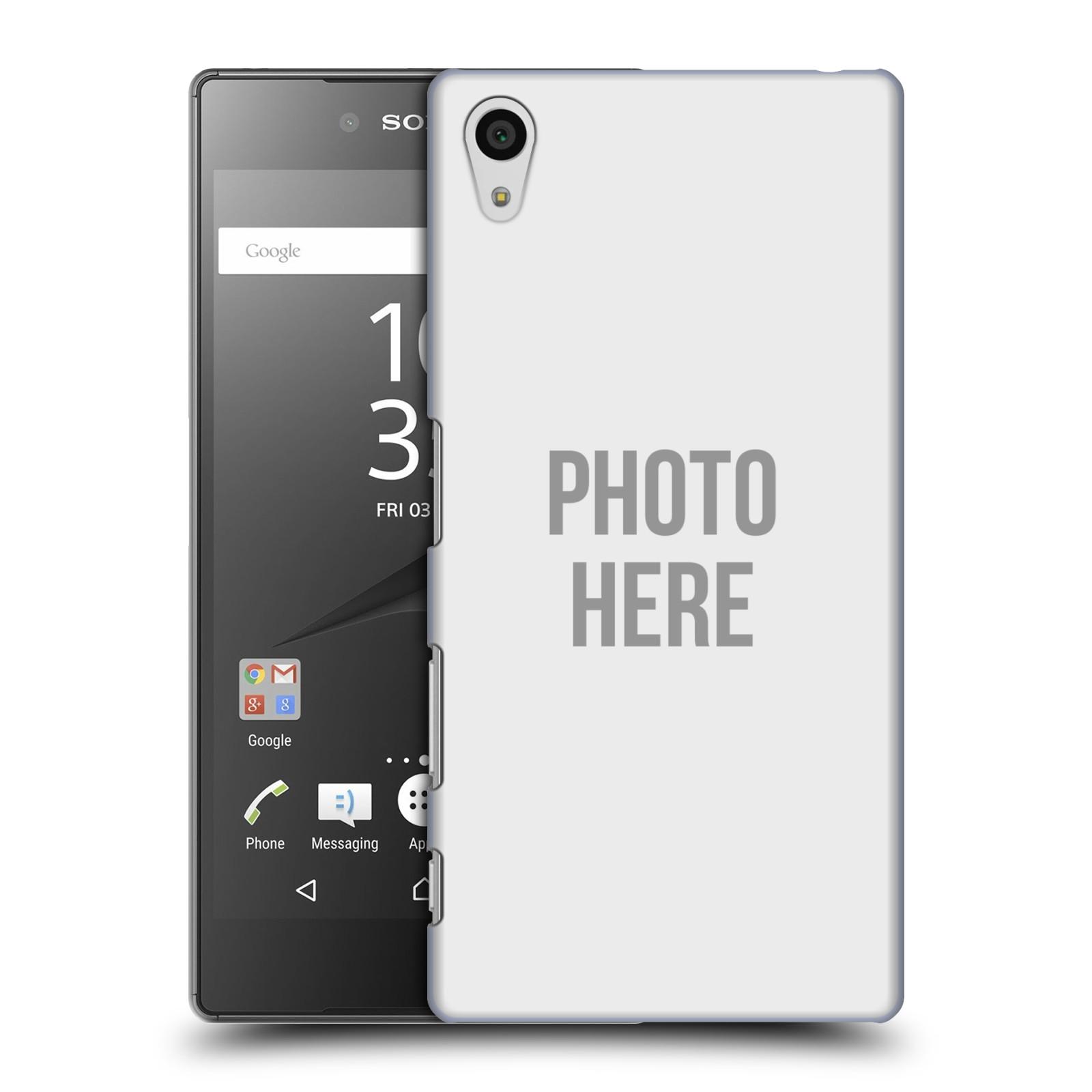 Plastové pouzdro na mobil Sony Xperia Z5 HEAD CASE s vlastním motivem