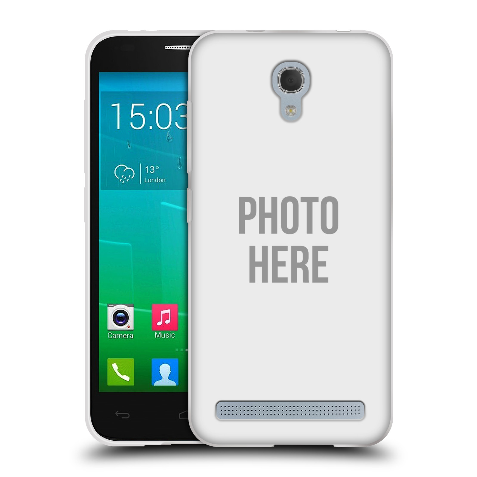Silikonové pouzdro na mobil Alcatel One Touch Idol 2 Mini S 6036Y HEAD CASE s vlastním motivem
