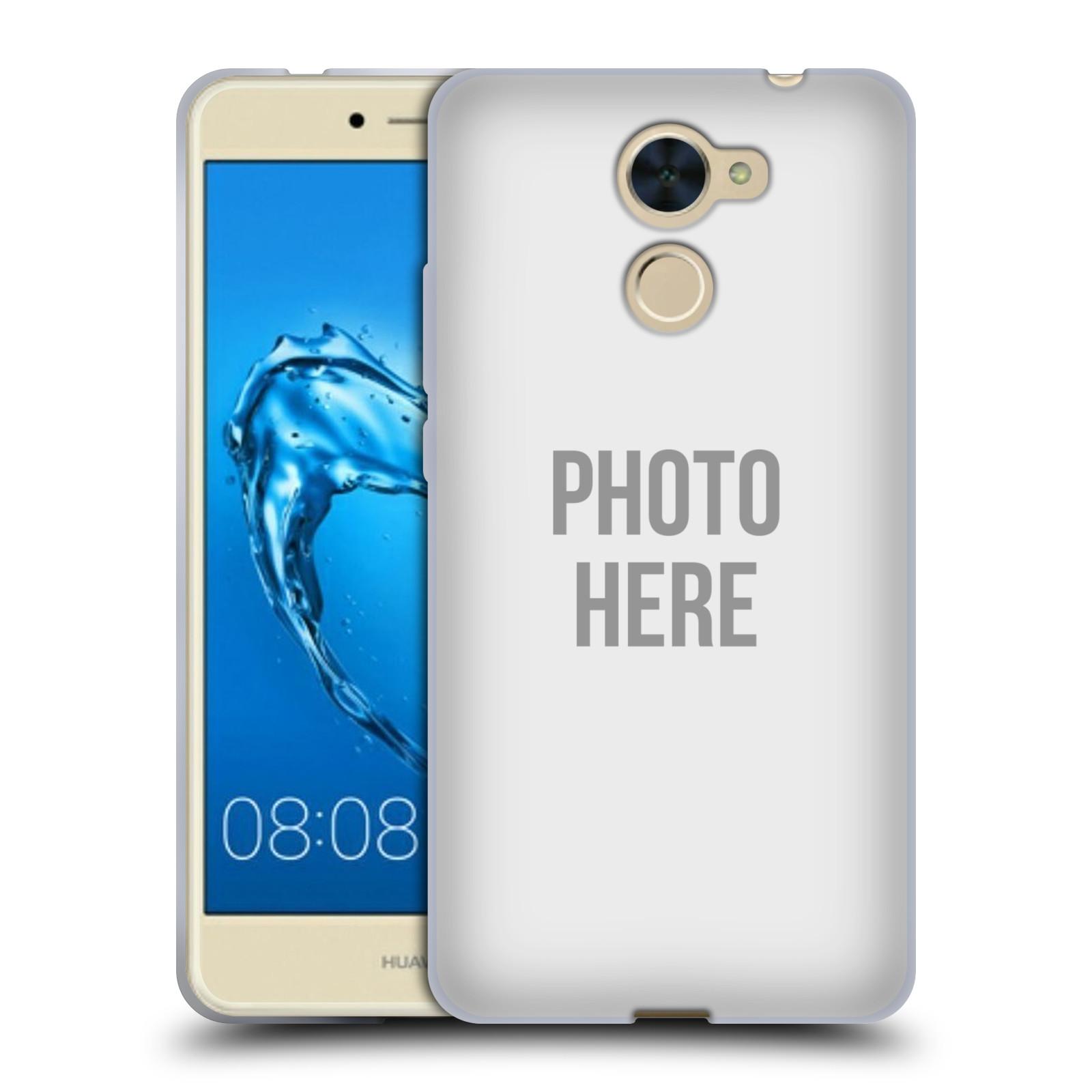 Silikonové pouzdro na mobil Huawei Y7 - Head Case - s vlastním motivem