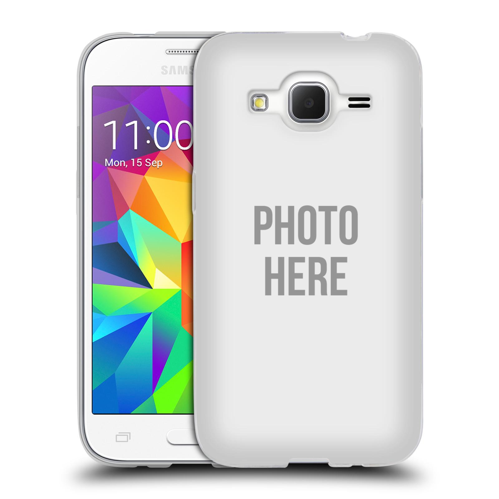 Silikonové pouzdro na mobil Samsung Galaxy Core Prime LTE HEAD CASE s vlastním motivem