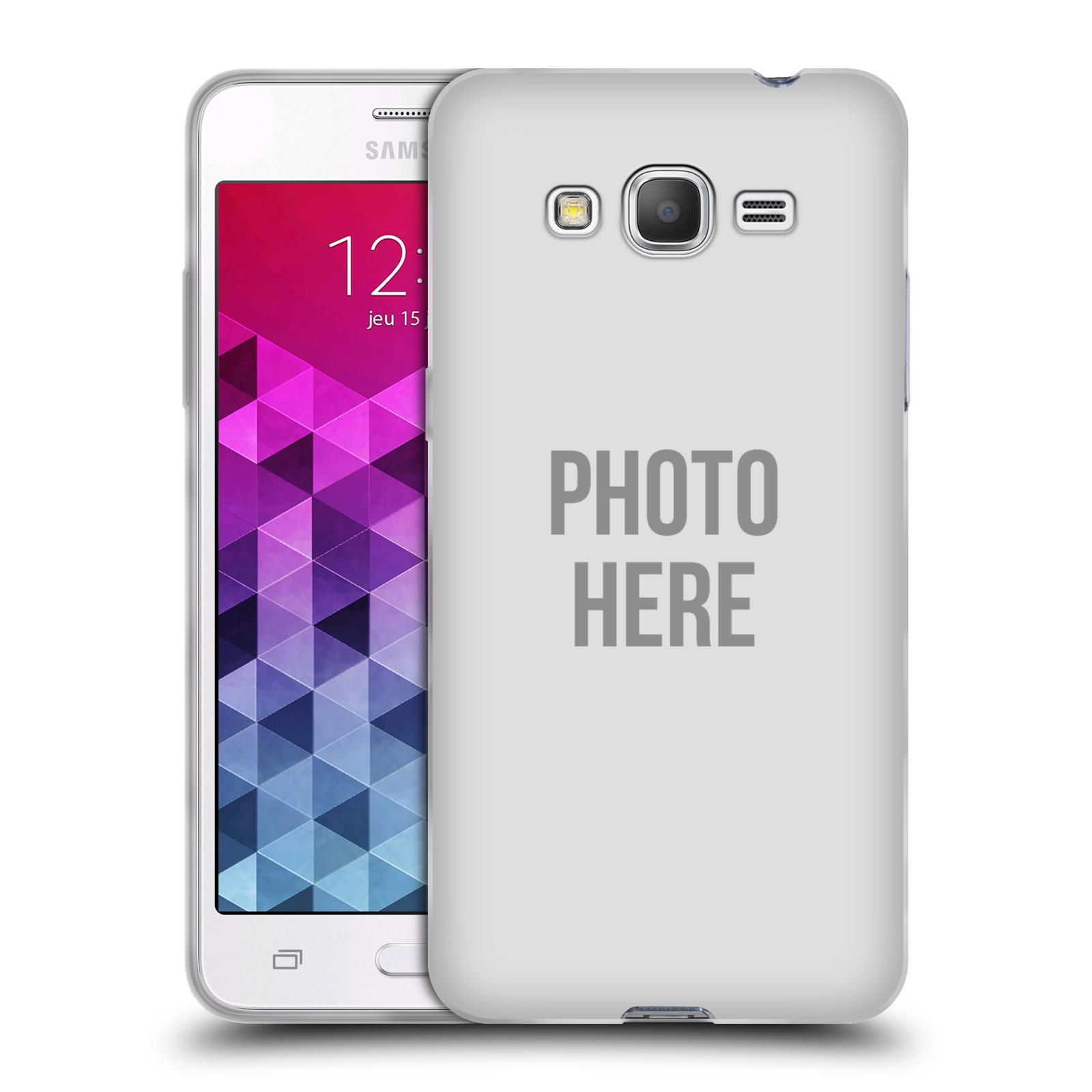 Silikonové pouzdro na mobil Samsung Galaxy Grand Prime HEAD CASE s vlastním motivem