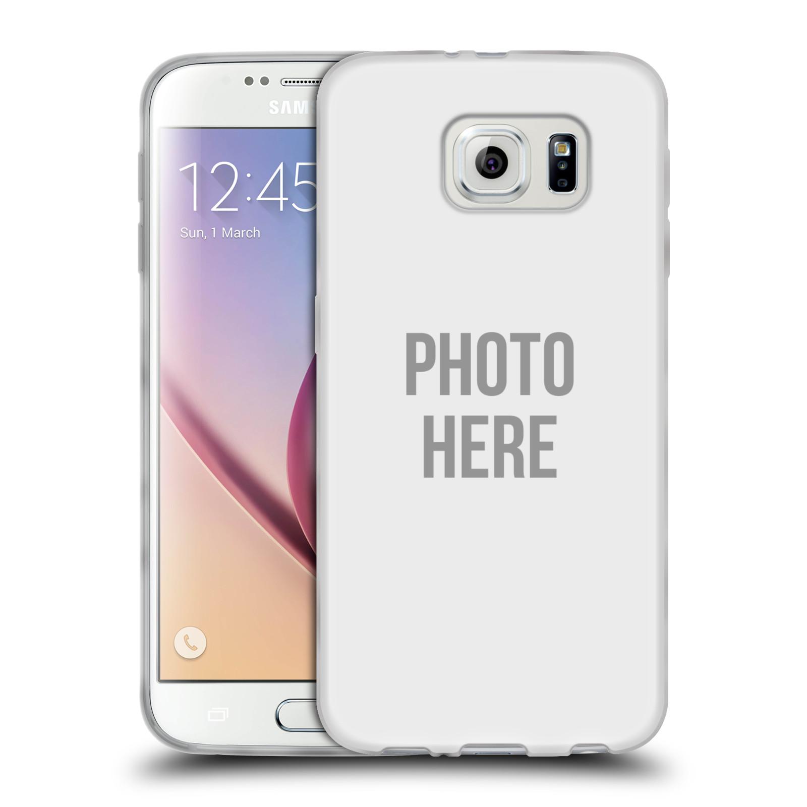 Silikonové pouzdro na mobil Samsung Galaxy S6 HEAD CASE s vlastním motivem