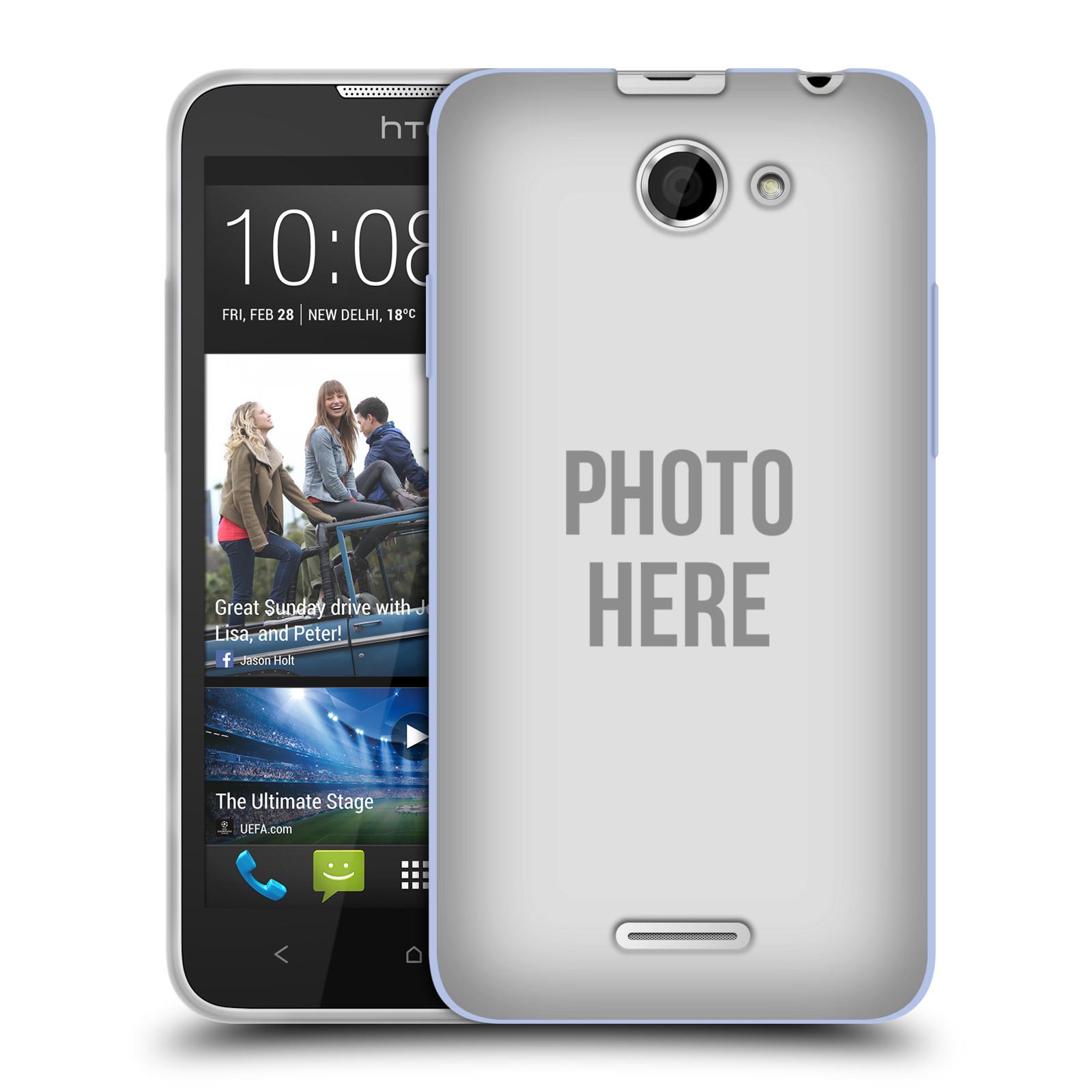 Silikonové pouzdro na mobil HTC Desire 516 HEAD CASE s vlastním motivem (Silikonový kryt či obal s vlastní fotografií na mobilní telefon HTC Desire 516 Dual SIM)