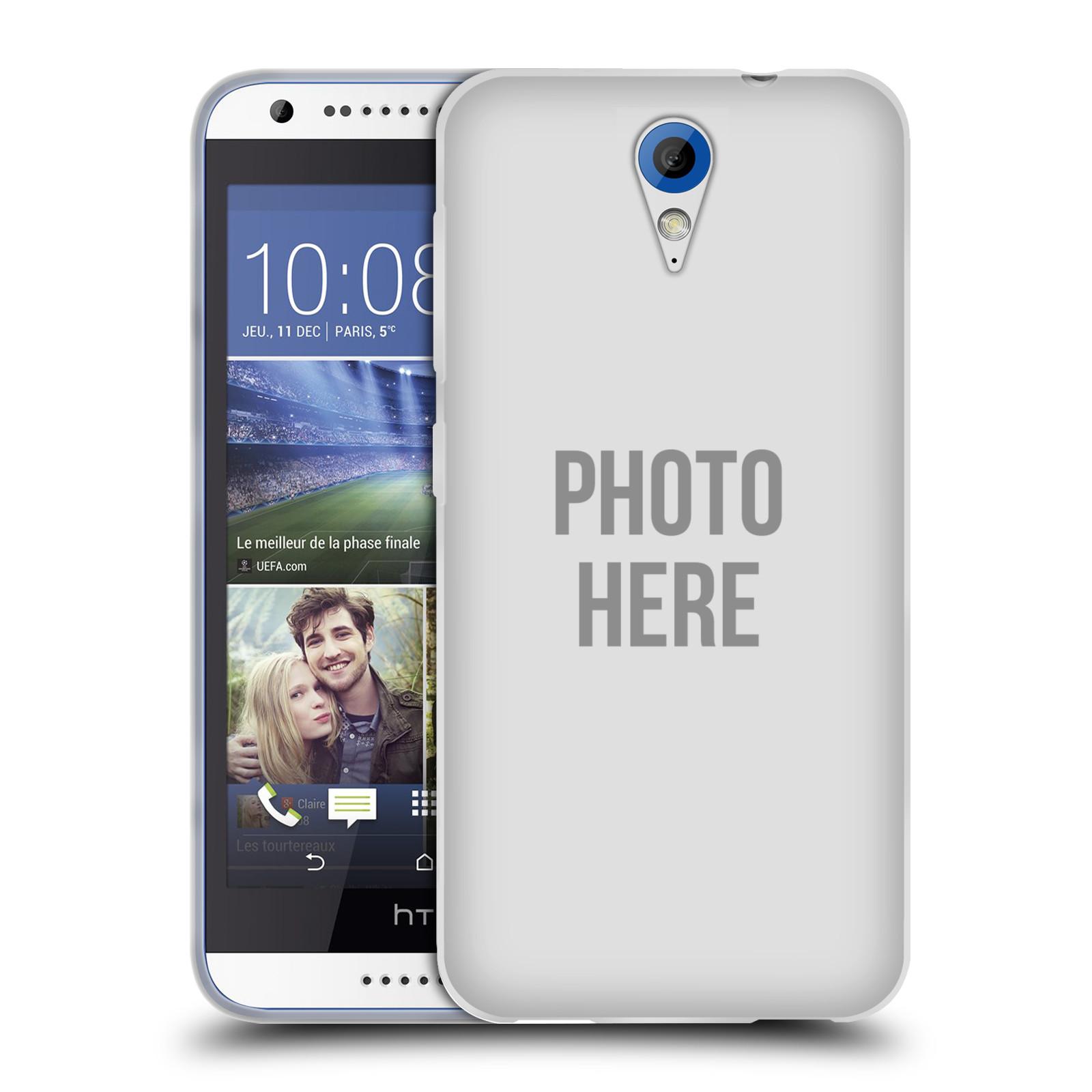 Silikonové pouzdro na mobil HTC Desire 620 HEAD CASE s vlastním motivem (Silikonový kryt či obal s vlastní fotografií na mobilní telefon HTC Desire 620)