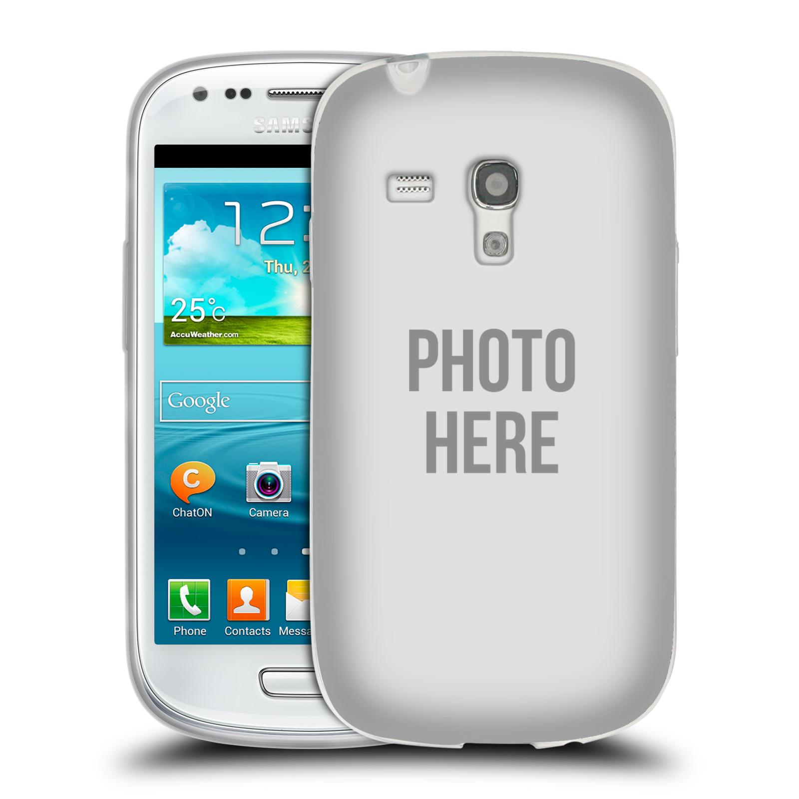 Silikonové pouzdro na mobil Samsung Galaxy S III Mini HEAD CASE s vlastním motivem (Silikonový kryt či obal s vlastní fotografií na mobilní telefon Samsung Galaxy S III Mini GT-i8190)