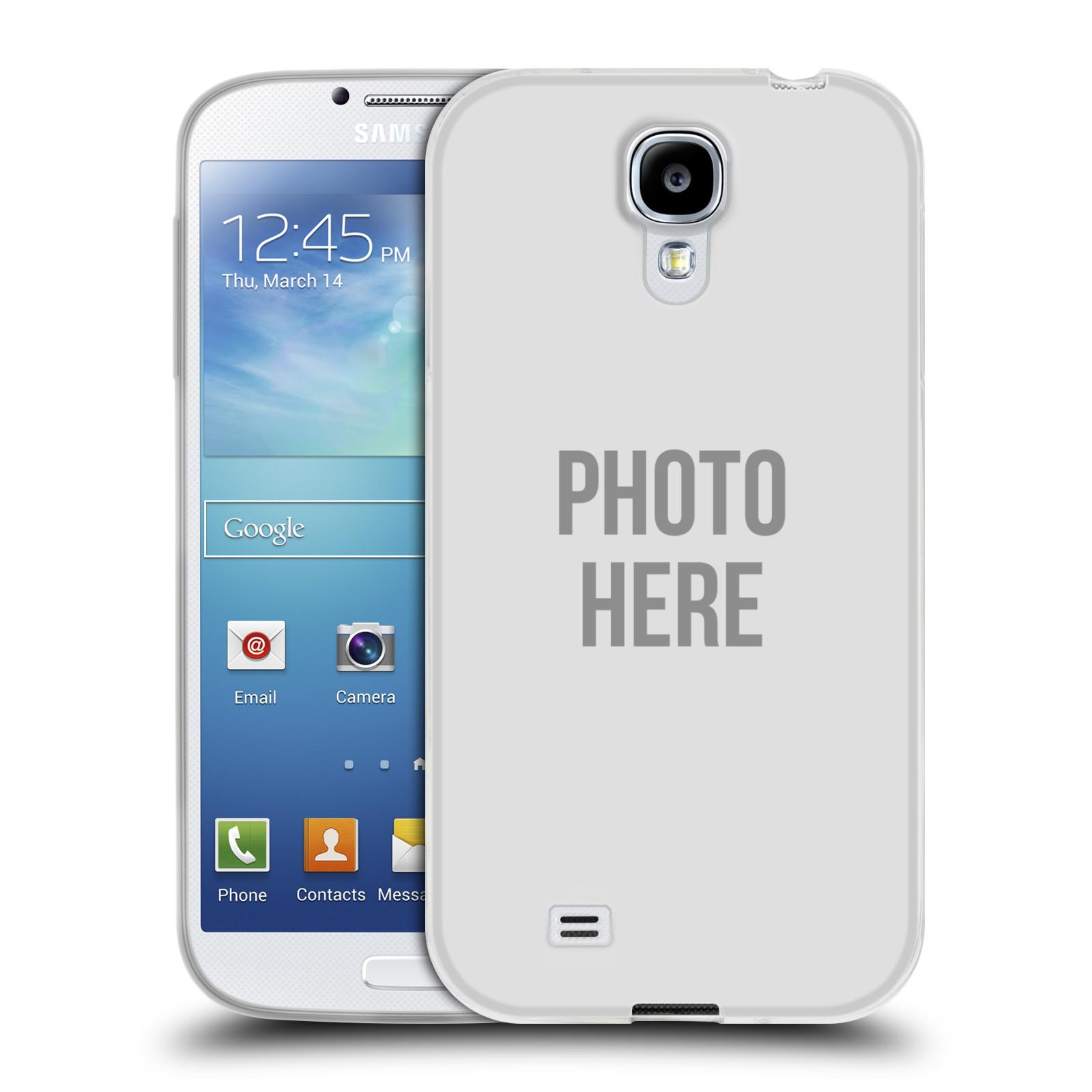 Silikonové pouzdro na mobil Samsung Galaxy S4 HEAD CASE s vlastním motivem (Silikonový kryt či obal s vlastní fotografií na mobilní telefon Samsung Galaxy S4 GT-i9505 / i9500)