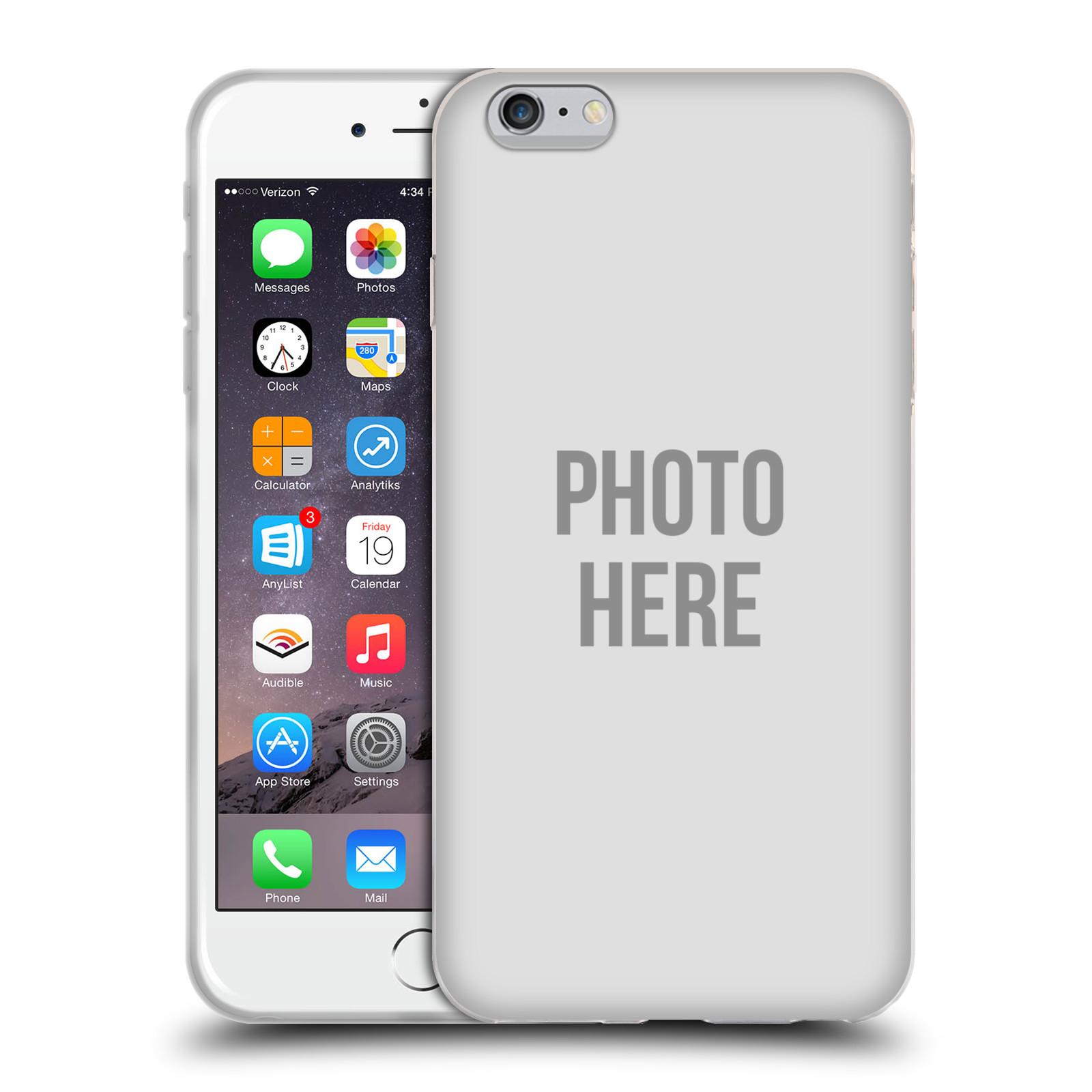 Silikonové pouzdro na mobil Apple iPhone 6 Plus HEAD CASE s vlastním motivem (Silikonový kryt či obal s vlastní fotografií na mobilní telefon Apple iPhone 6 Plus)