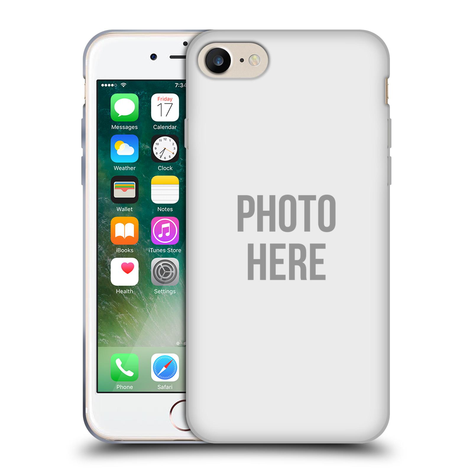 Silikonové pouzdro na mobil Apple iPhone 8 - Head Case - s vlastním motivem