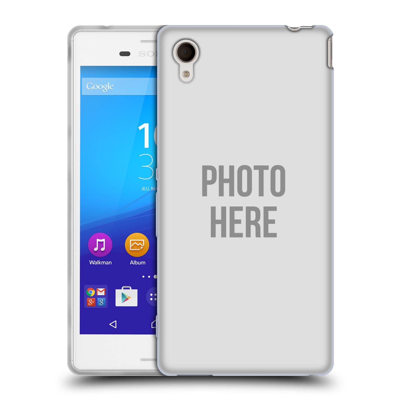 Silikonové pouzdro na mobil Sony Xperia M4 Aqua E2303 HEAD CASE s vlastním motivem (Silikonový kryt či obal s vlastní fotografií na mobilní telefon Sony Xperia M4 Aqua a M4 Aqua Dual SIM)
