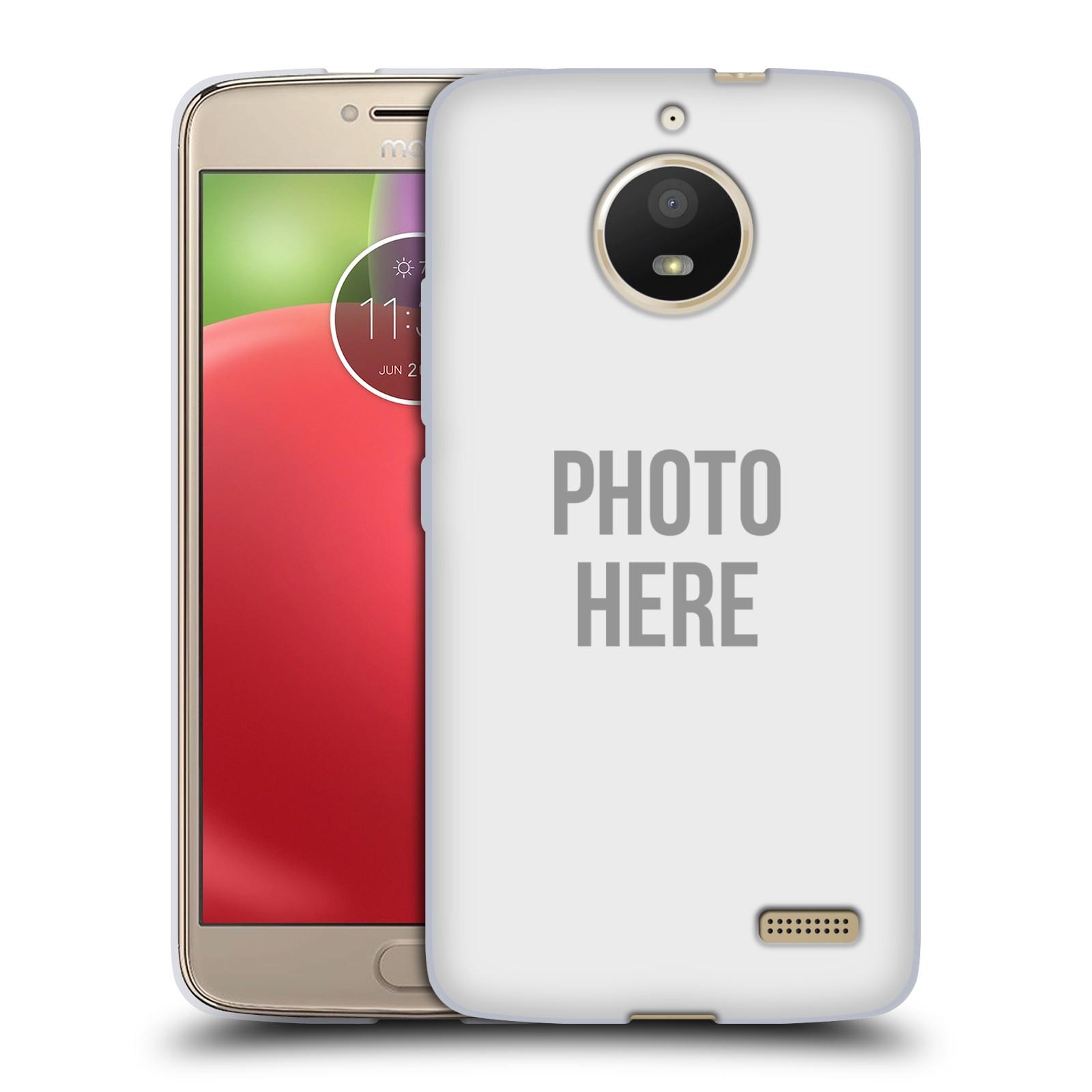 Silikonové pouzdro na mobil Lenovo Moto E4 - Head Case - s vlastním motivem