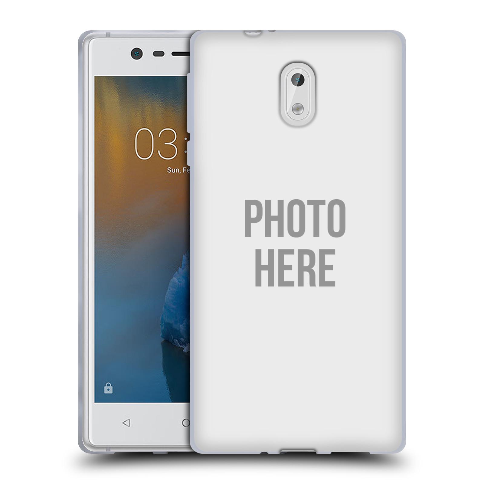 Silikonové pouzdro na mobil Nokia 3 Head Case - s vlastním motivem