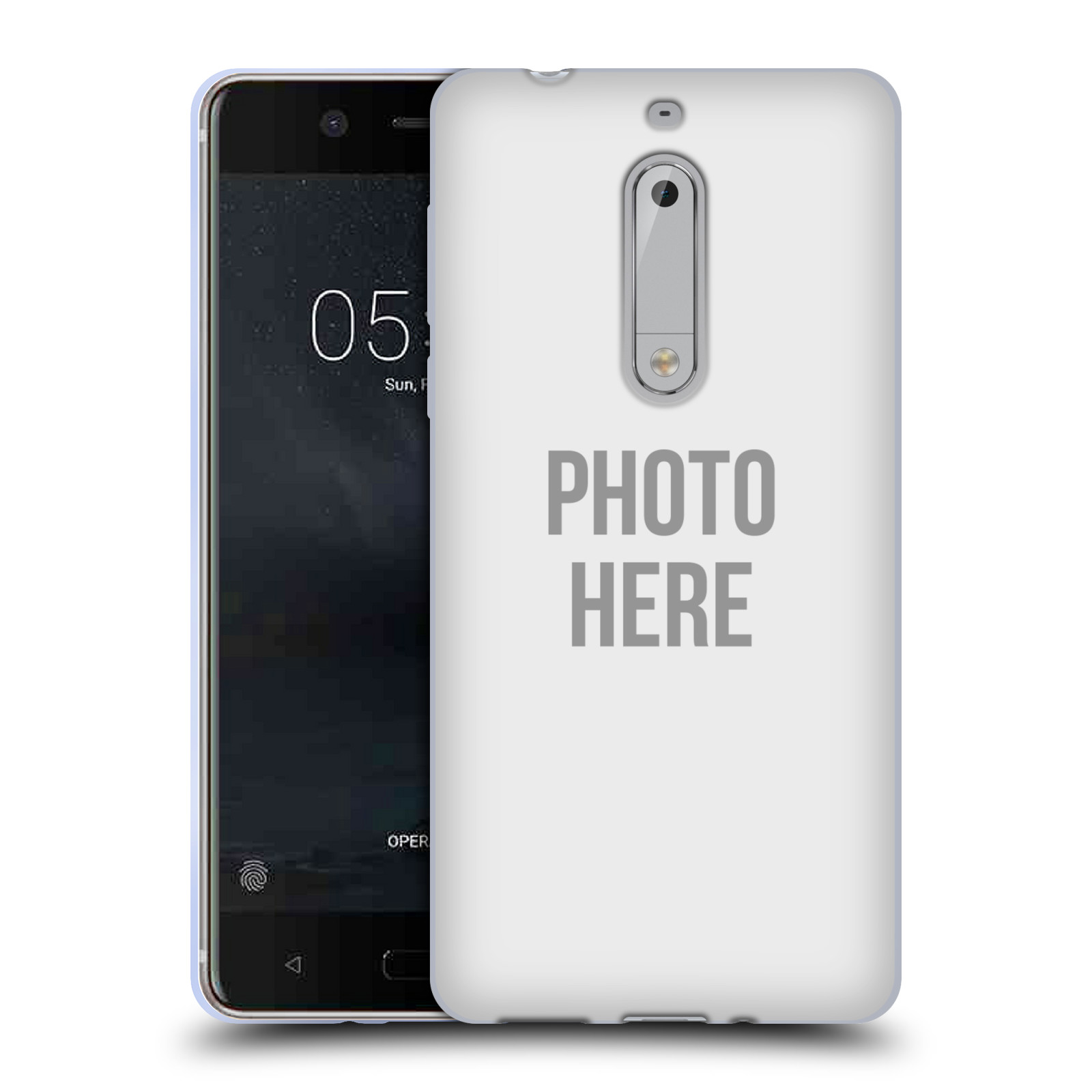 Silikonové pouzdro na mobil Nokia 5 Head Case - s vlastním motivem