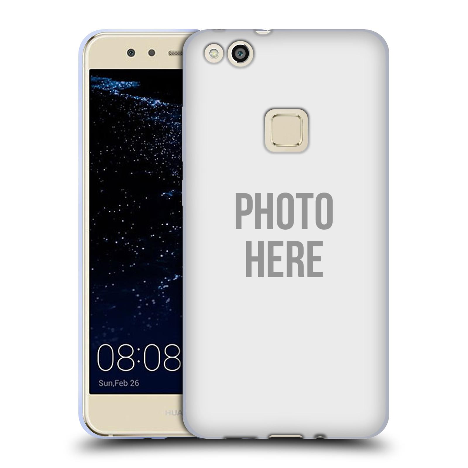 Silikonové pouzdro na mobil Huawei P10 Lite Head Case - s vlastním motivem