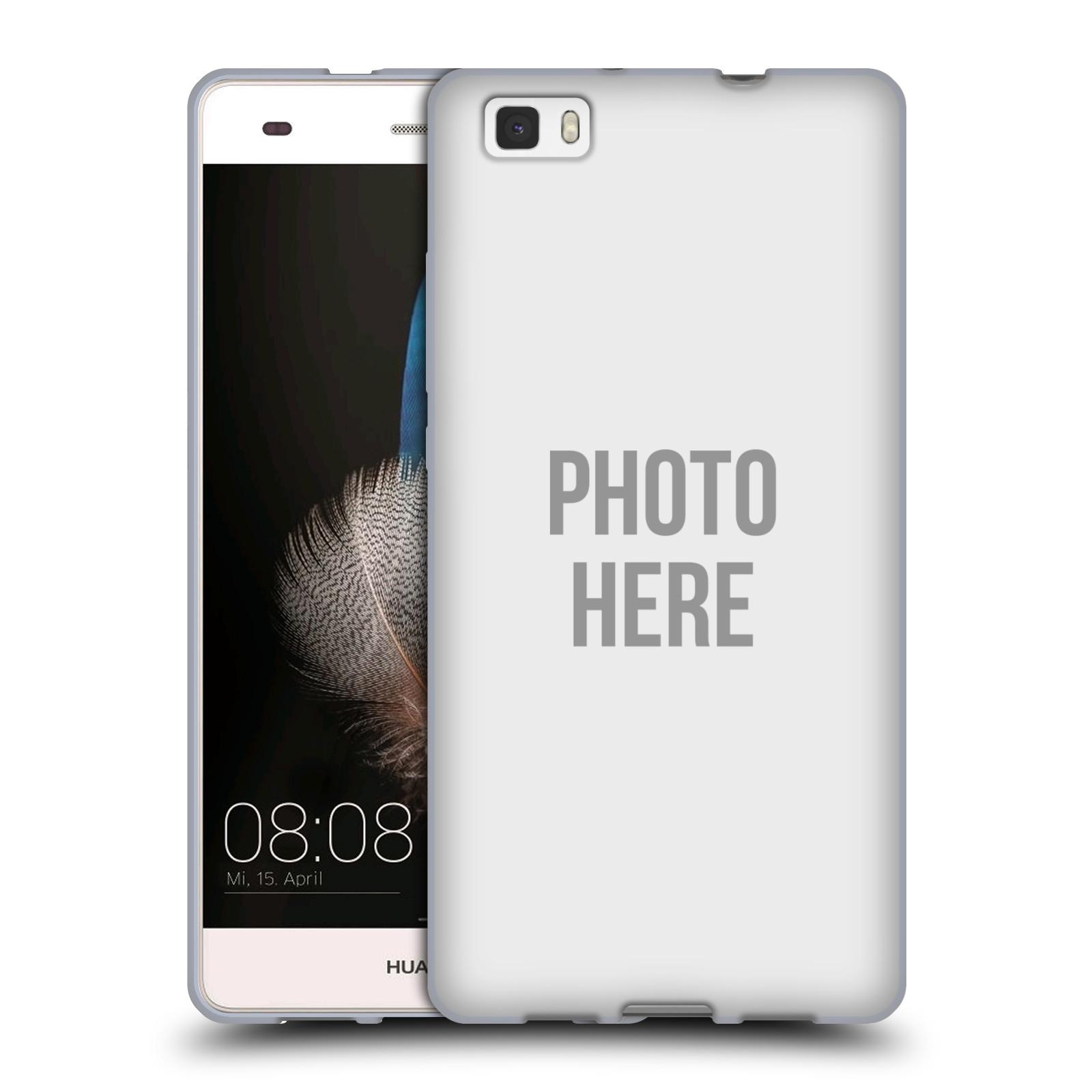 Silikonové pouzdro na mobil Huawei P8 Lite HEAD CASE s vlastním motivem
