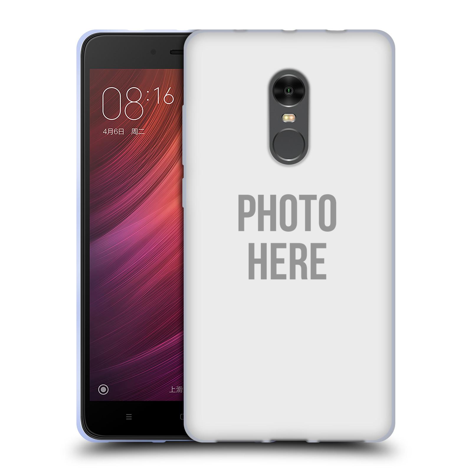 Silikonové pouzdro na mobil Xiaomi Redmi Note 4 - Head Case - s vlastním motivem (Silikonový kryt či obal na mobilní telefon Xiaomi Redmi Note 4 s vlastním motivem)